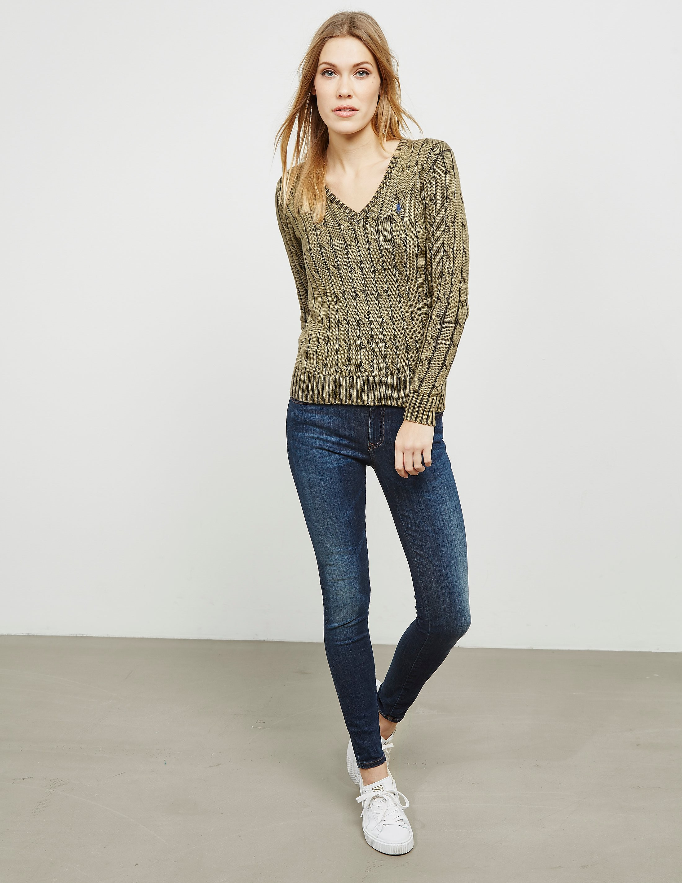 Polo Ralph Lauren Kimberly V-Neck Knitted Jumper