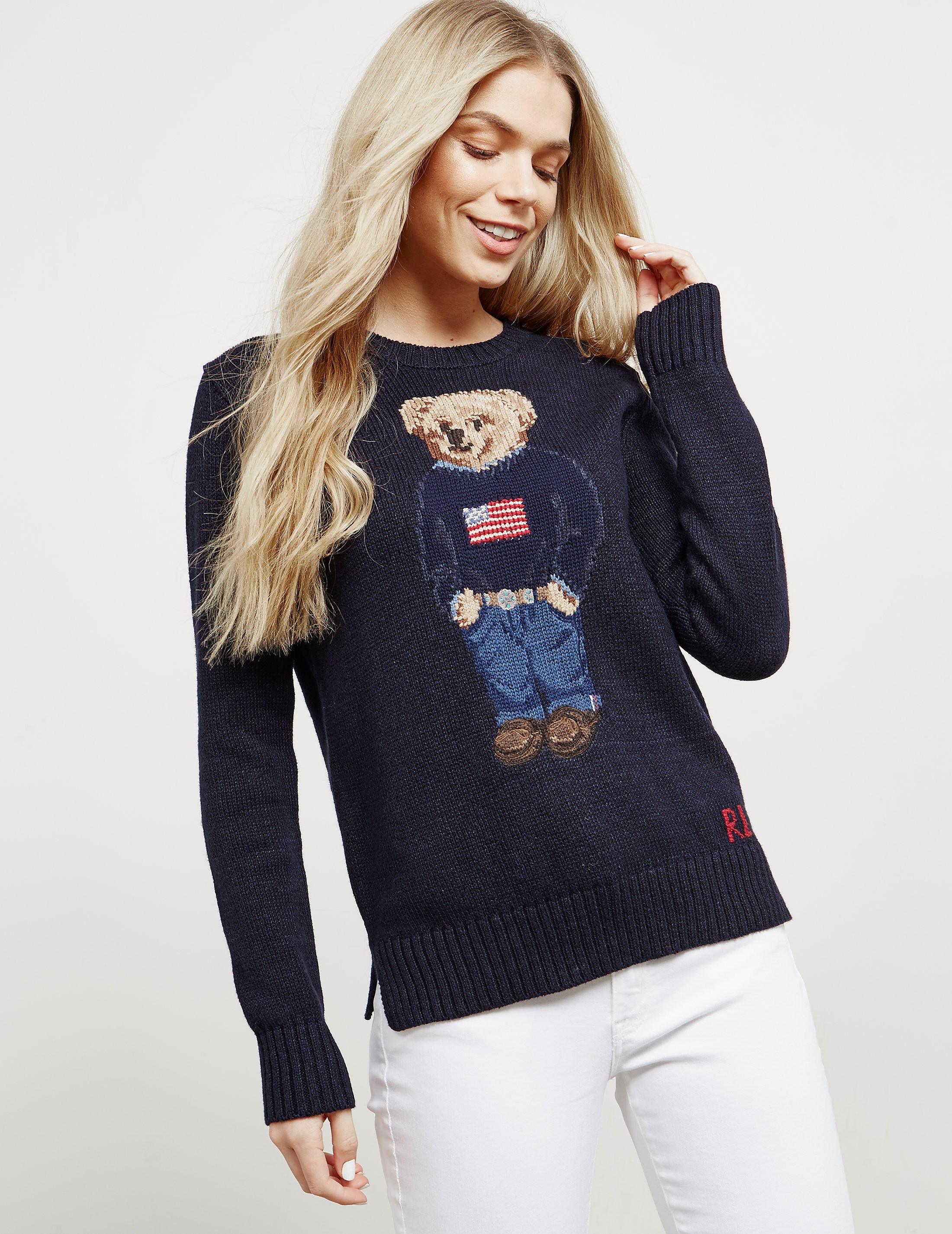 Polo Ralph Lauren Teddy Bear Knitted Jumper - Online Exclusive