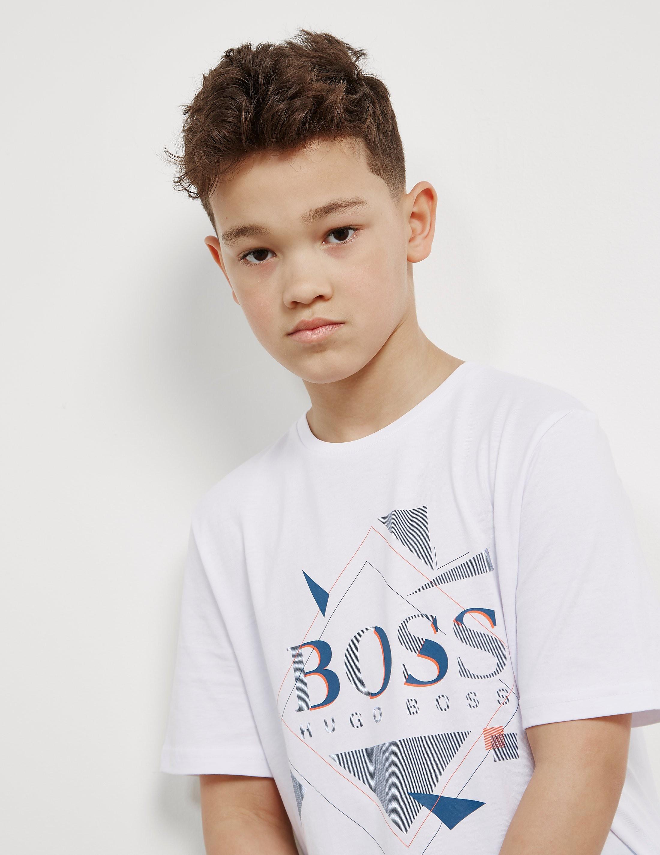BOSS Kids Shapes Short Sleeve T-Shirt