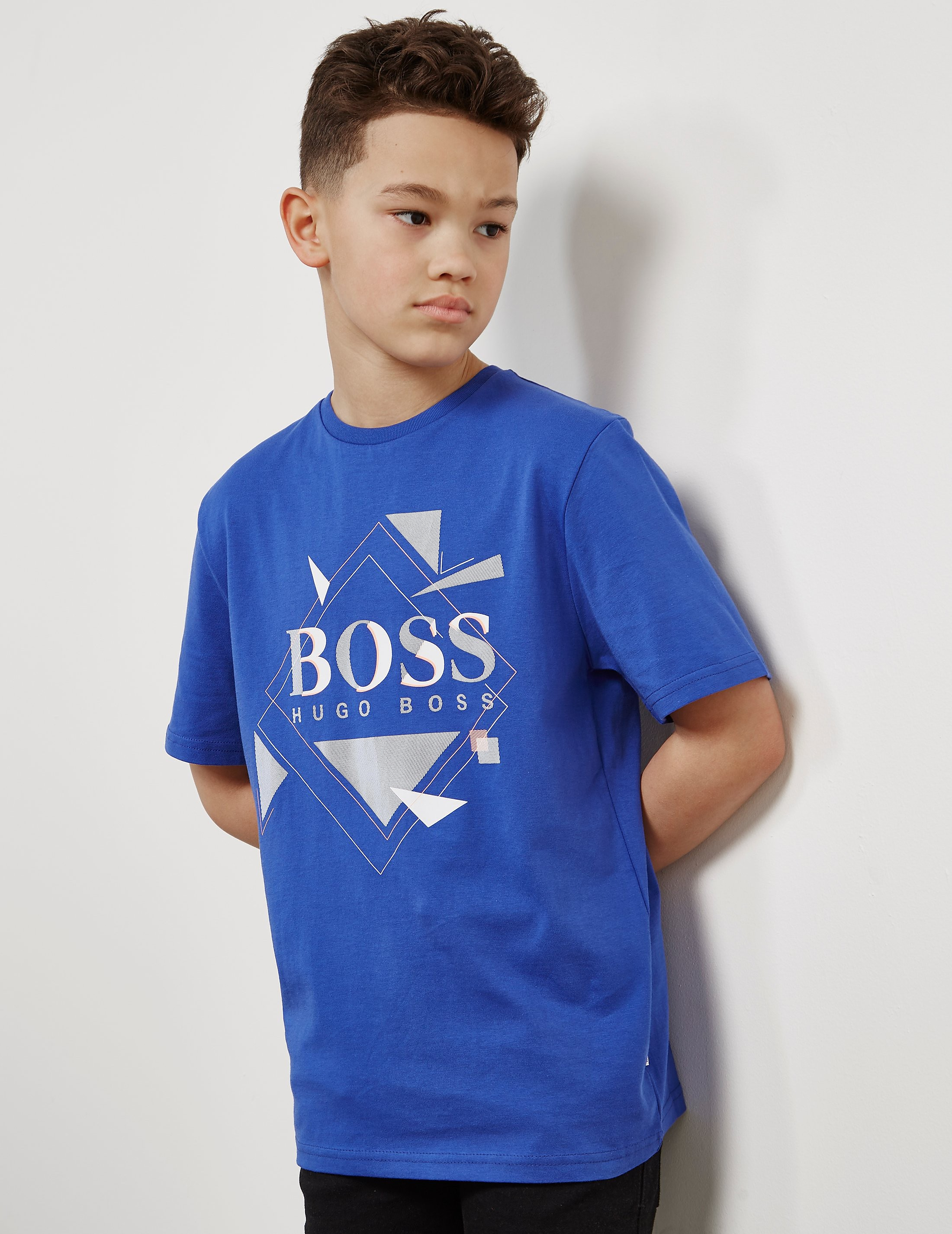 BOSS Kids Shapes Short Sleeve T-Shirt