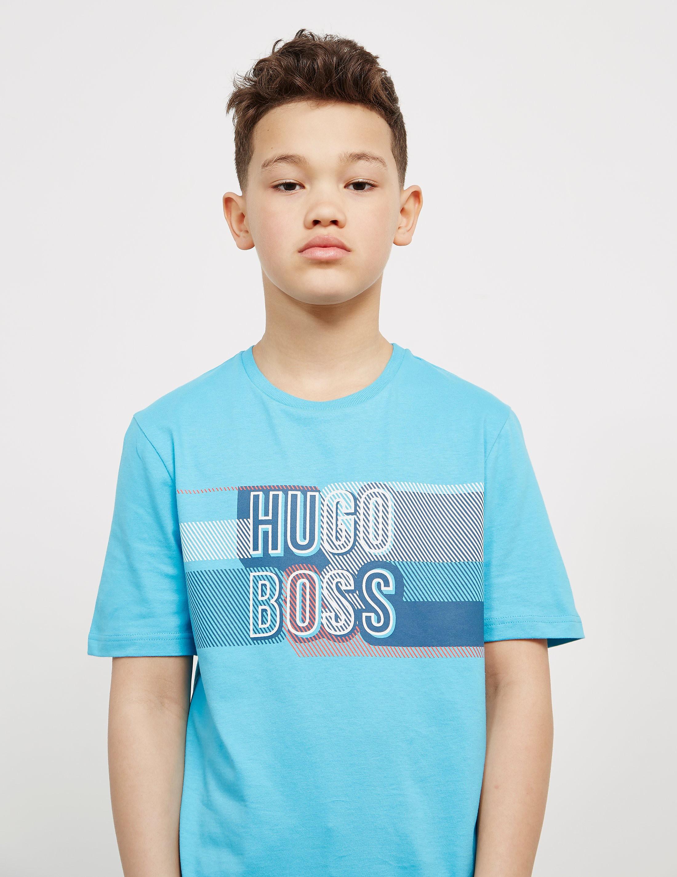 BOSS Letterline Short Sleeve T-Shirt