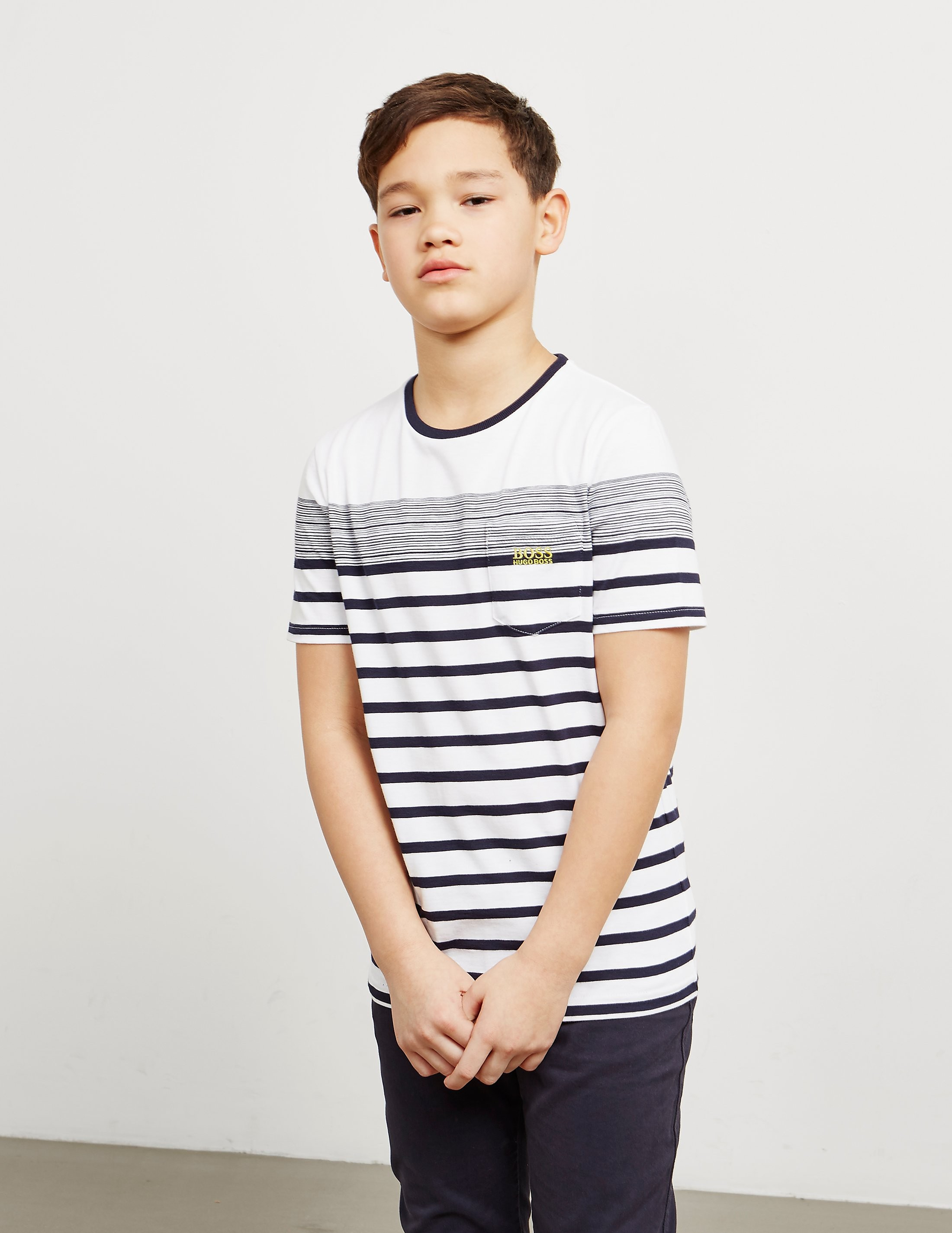 BOSS Stripe Pocket Short Sleeve T-Shirt