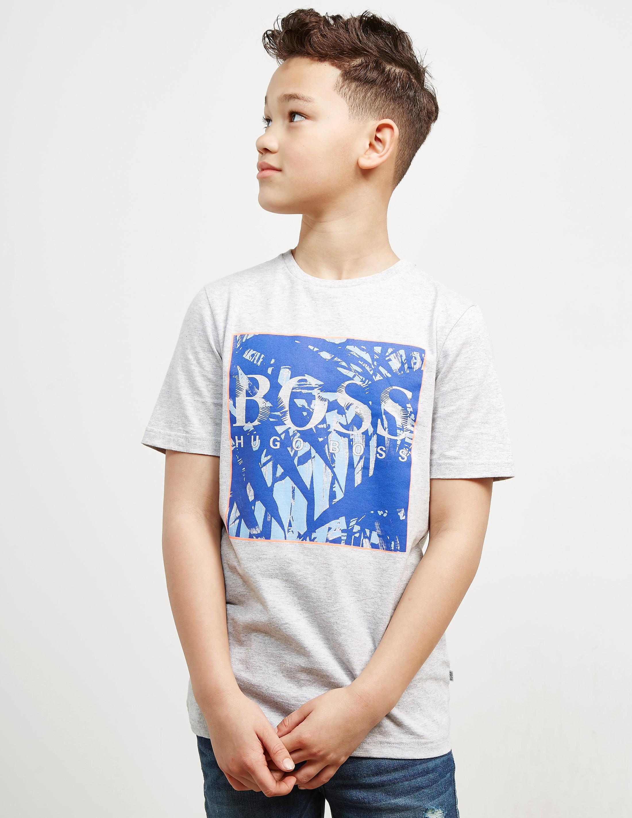 BOSS Palm Box Short Sleeve T-Shirt