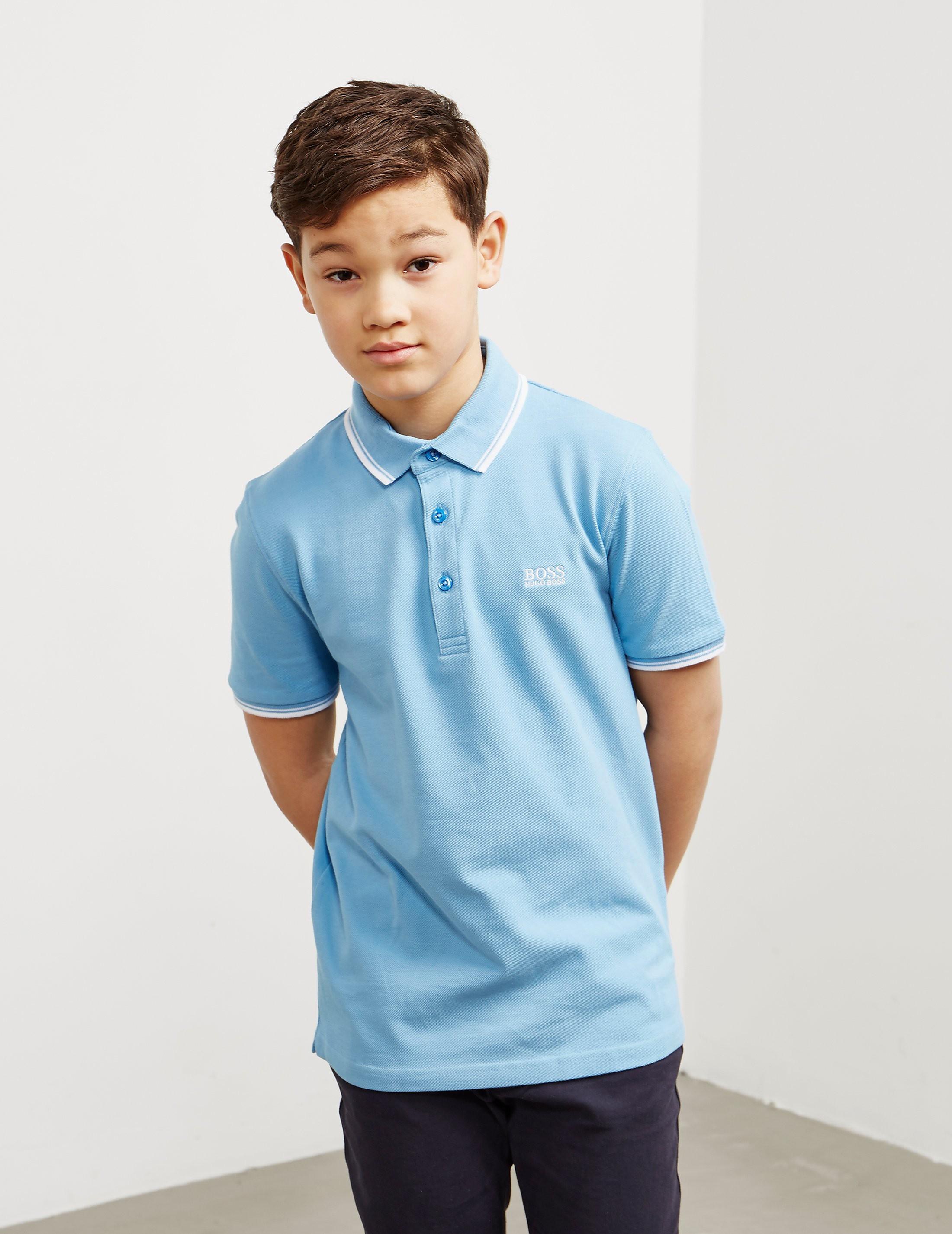 BOSS Tipped Short Sleeve Polo Shirt