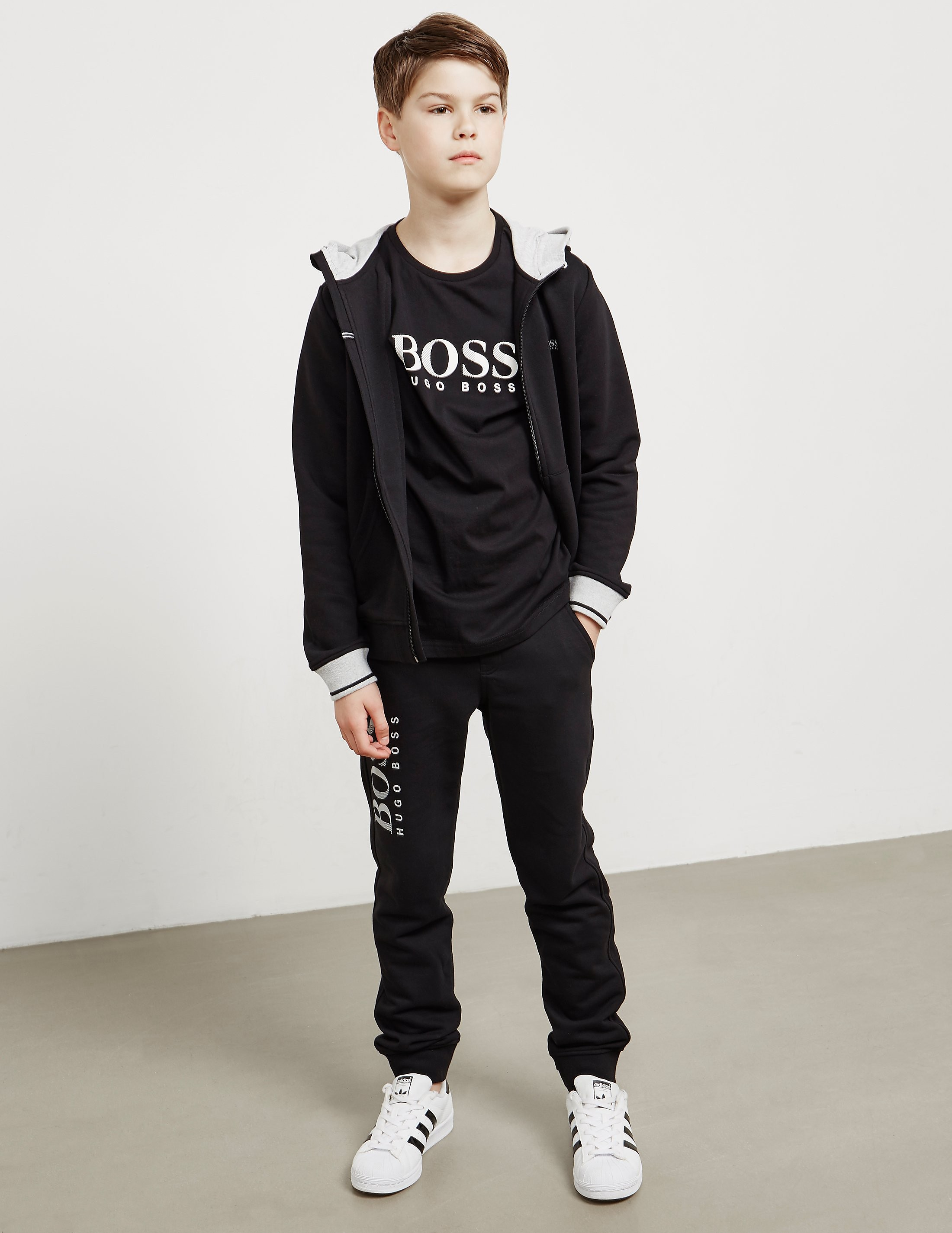 BOSS Logo Full Zip Hoody
