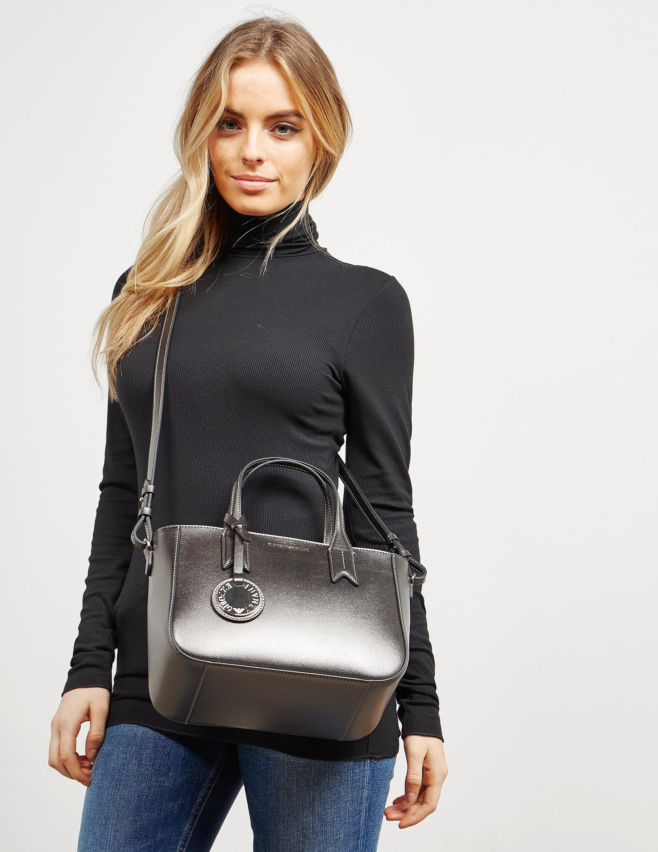 Emporio Armani Medium Shopper Bag