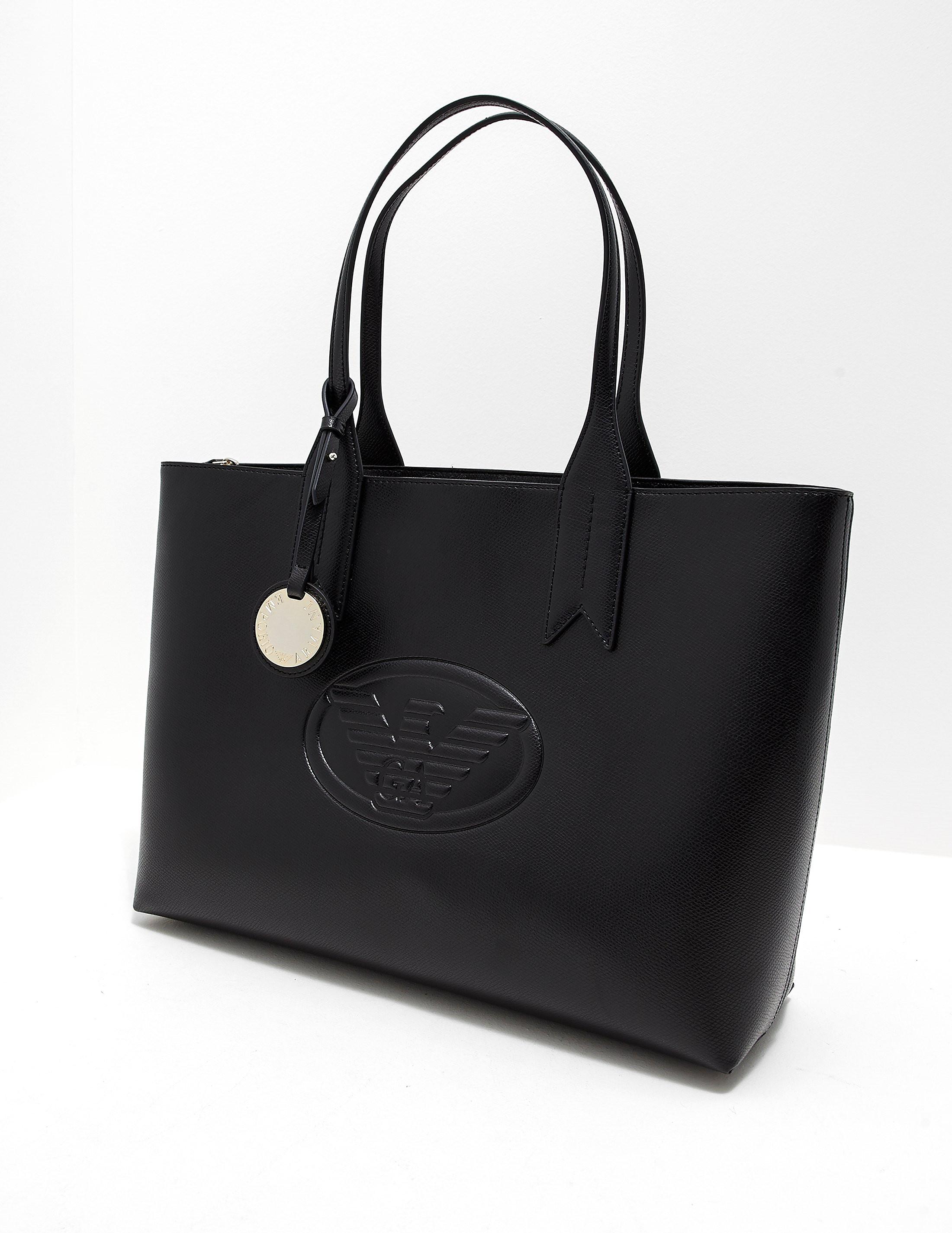 Emporio Armani Logo Shopper Bag