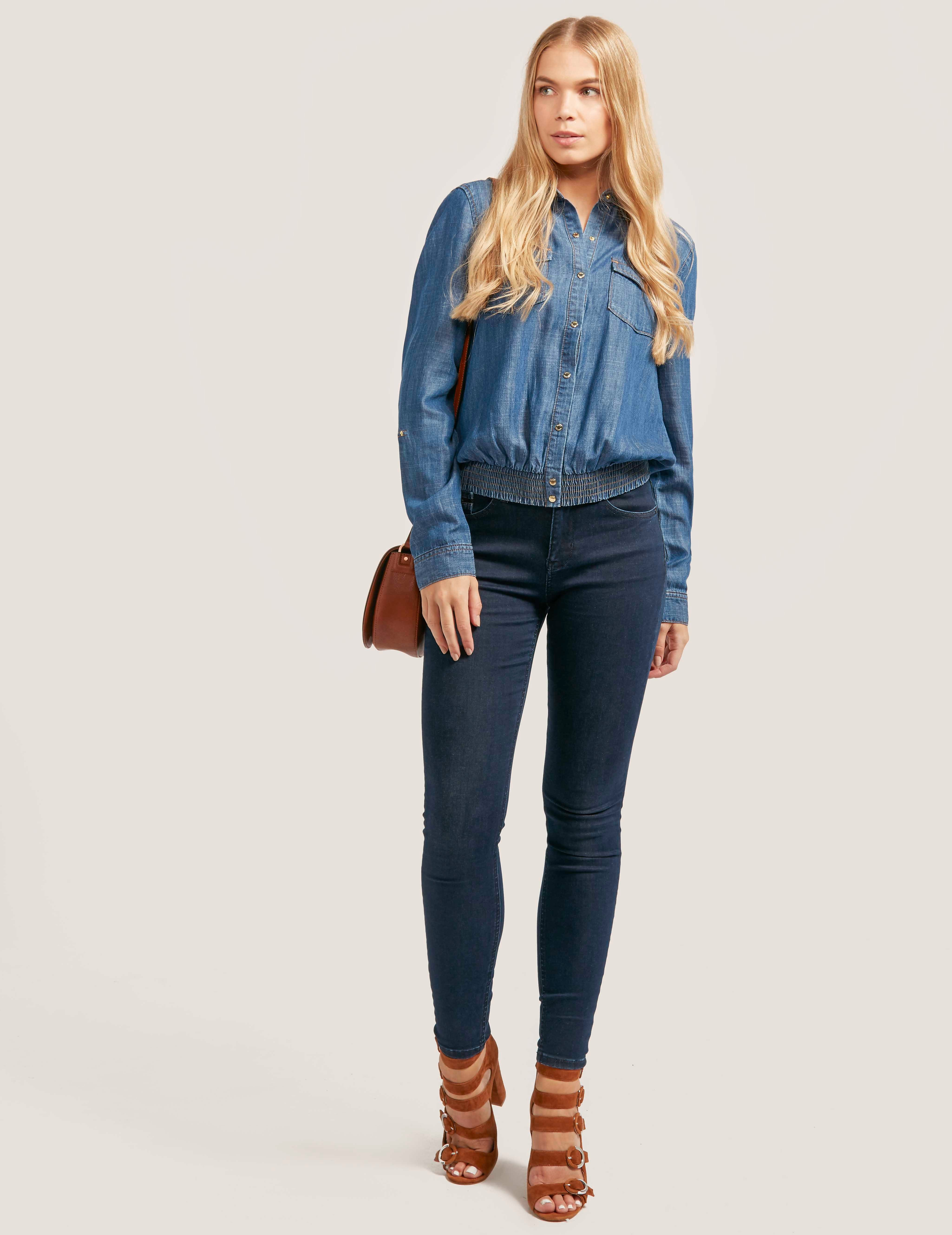 Juicy Couture Denim Indigo Shirt