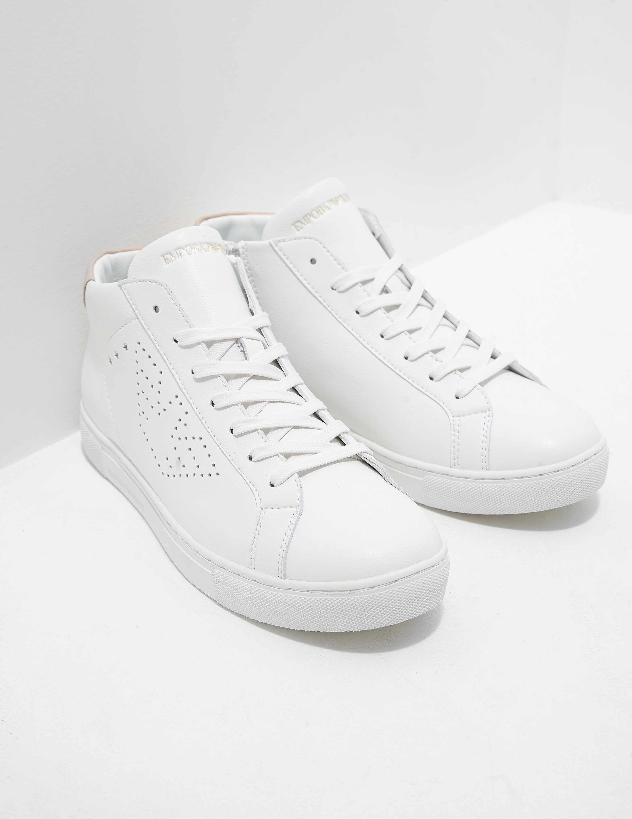 Emporio Armani Shara Hightop Sneakers