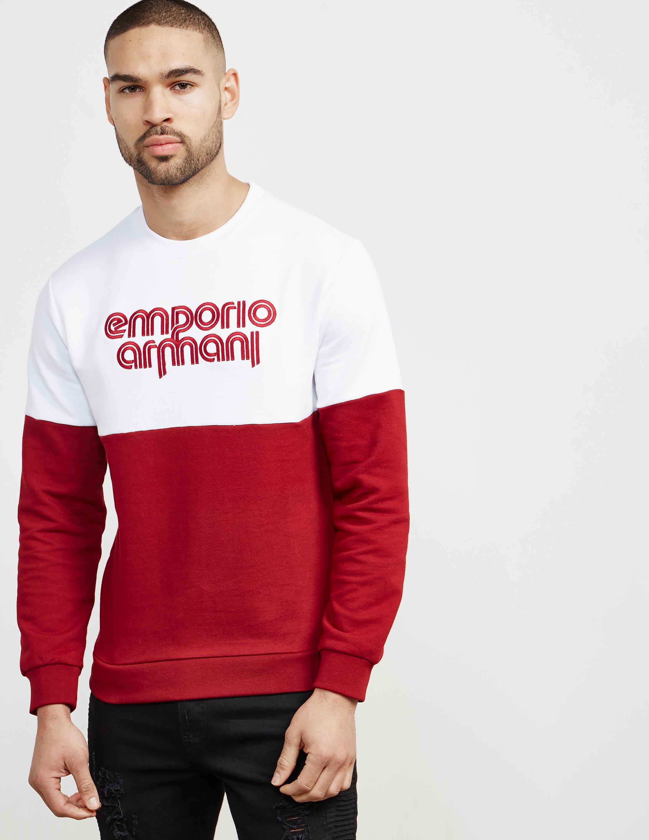 Emporio Armani Retro Sweatshirt