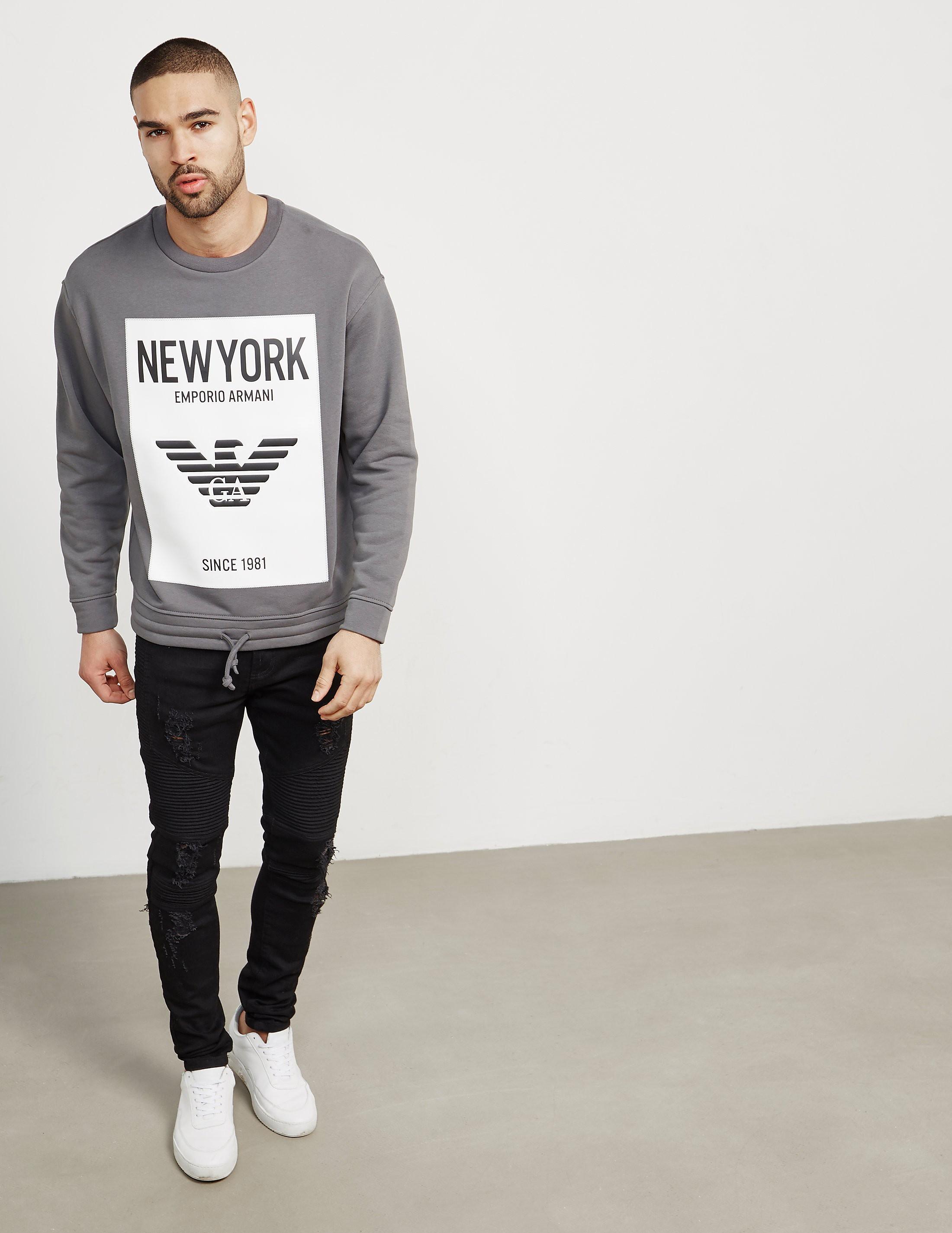Emporio Armani New York Sweatshirt - Online Exclusive