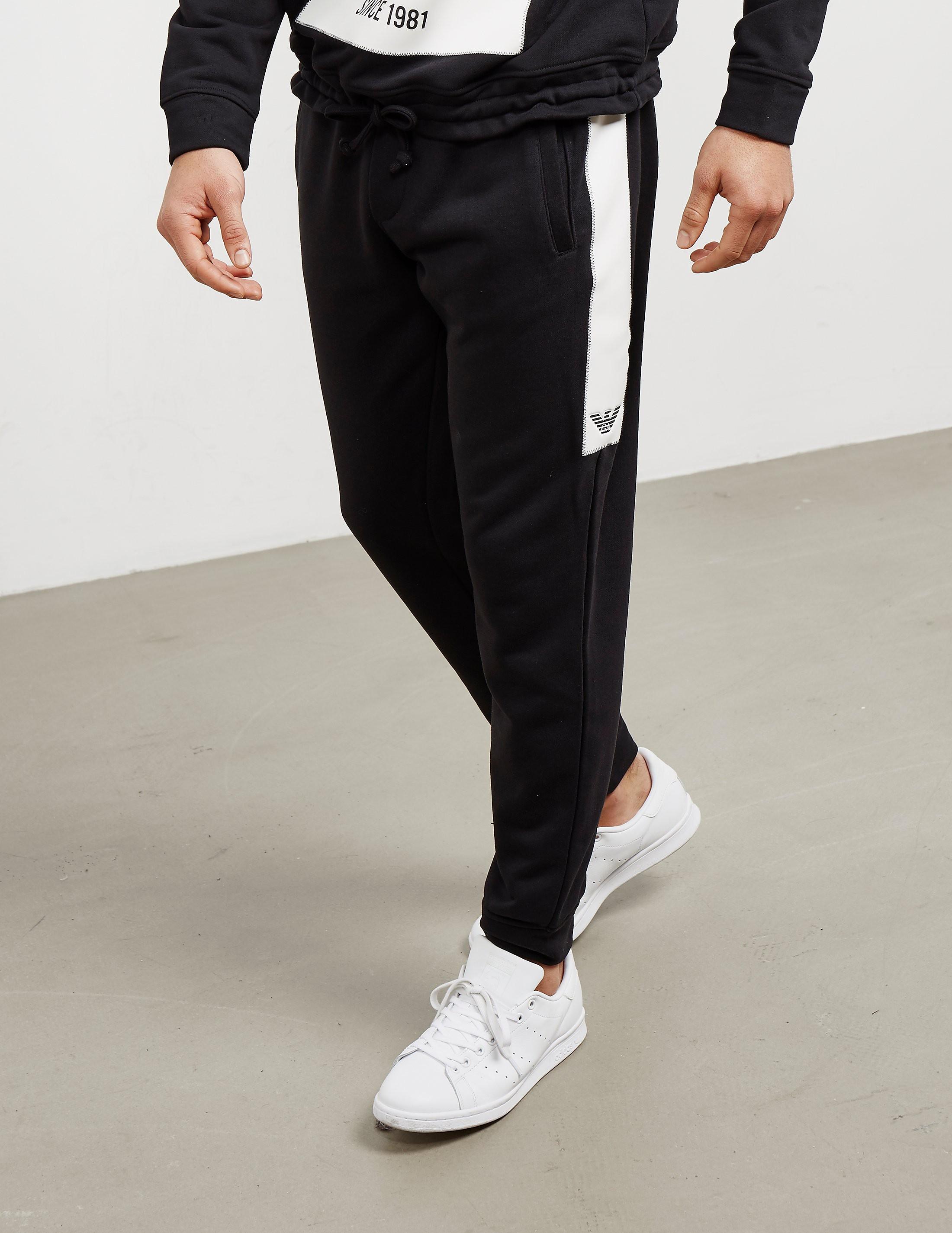 Emporio Armani Milano Fleece Track Pants- Online Exclusive