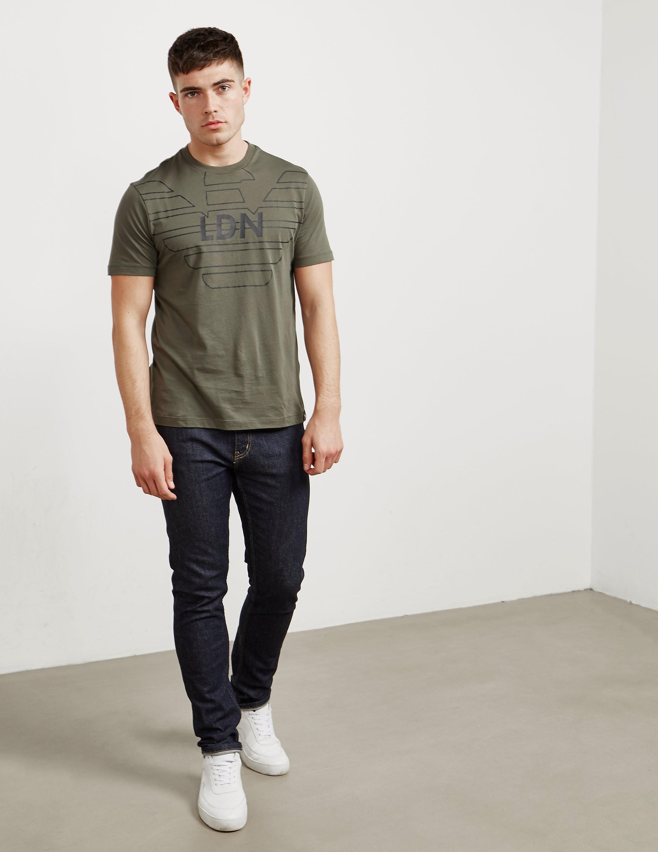 Emporio Armani LDN Eagle Short Sleeve T-Shirt