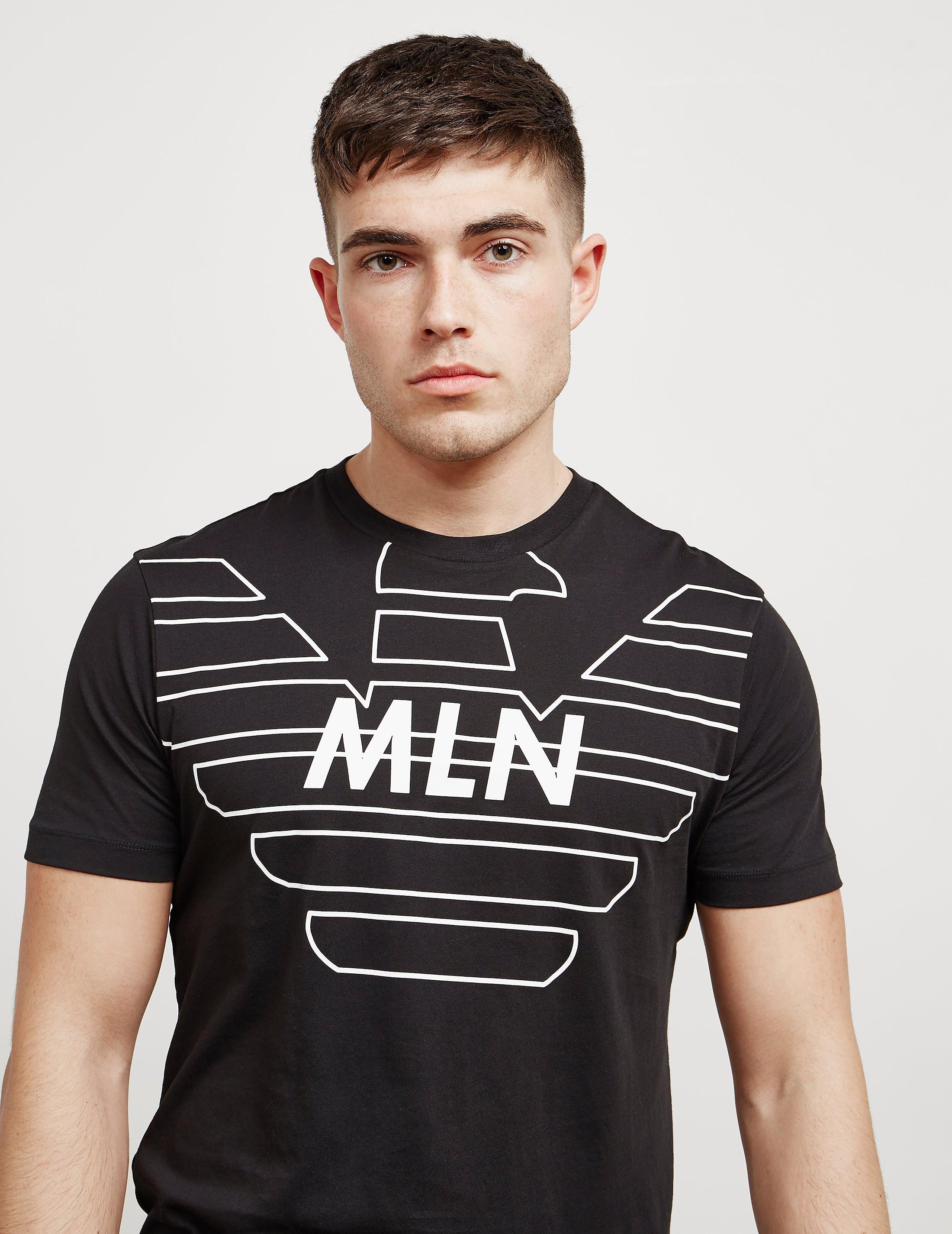 Emporio Armani MLN Eagle Short Sleeve T-Shirt