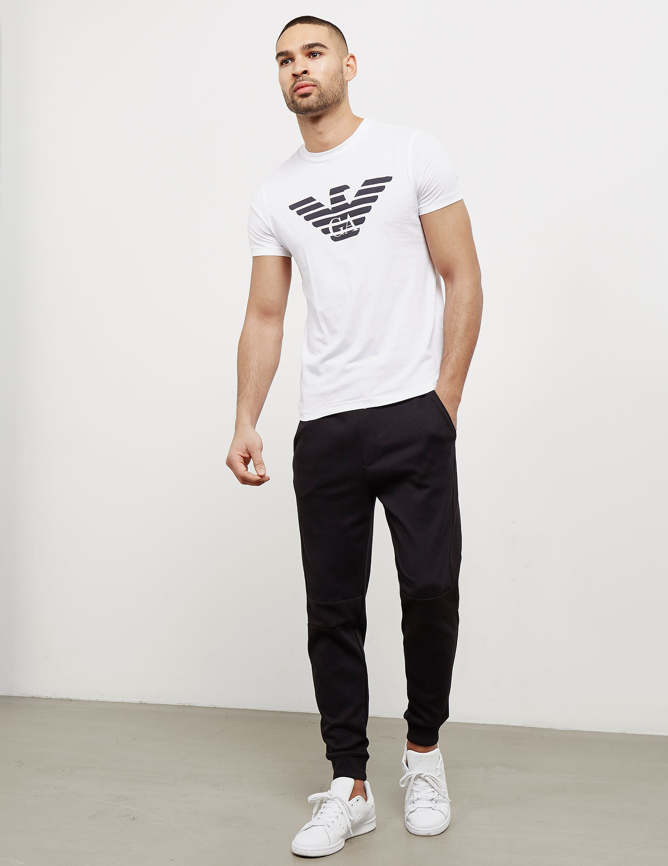 Emporio Armani Basic Eagle Short Sleeve T-Shirt