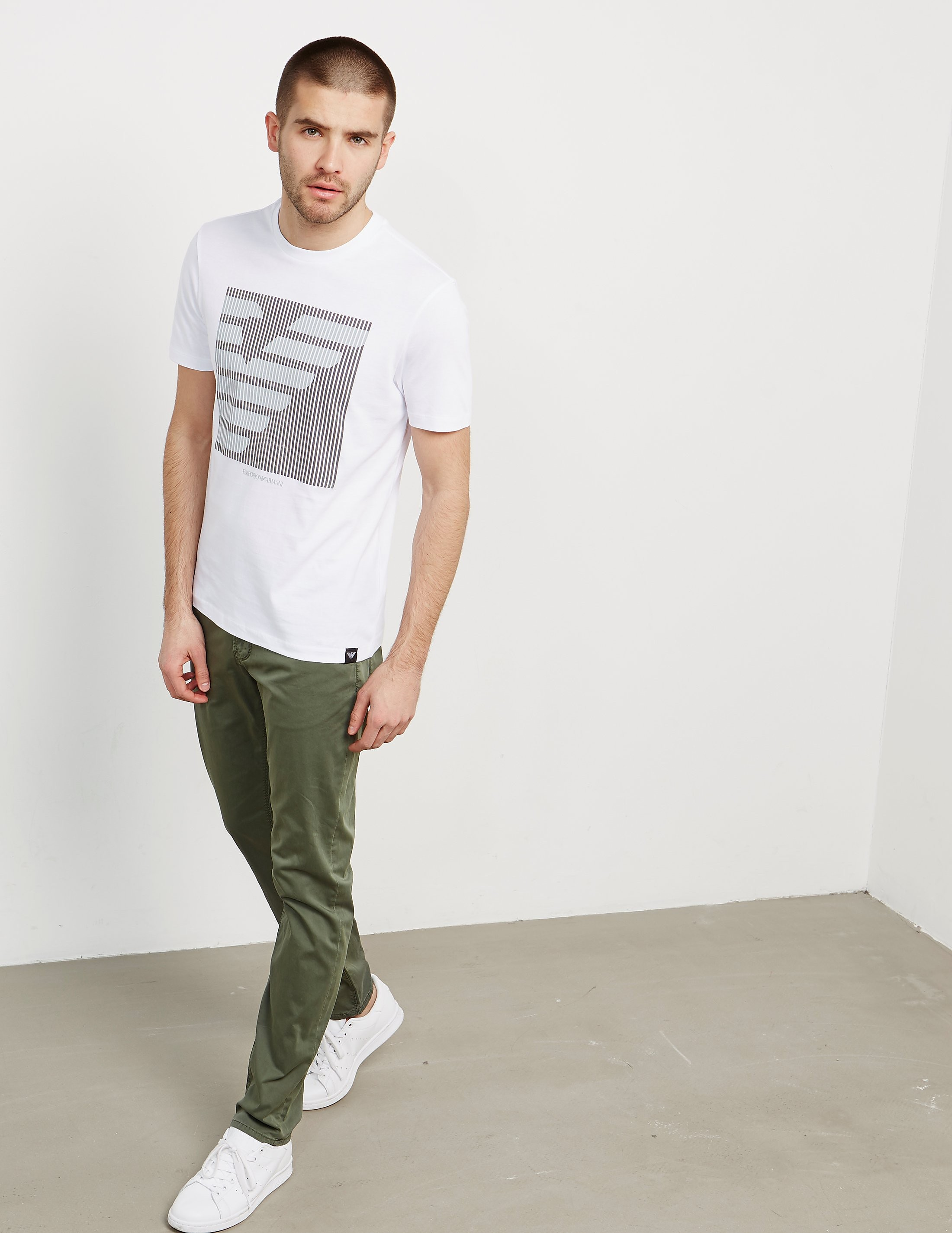 Emporio Armani Half Eagle Short Sleeve T-Shirt