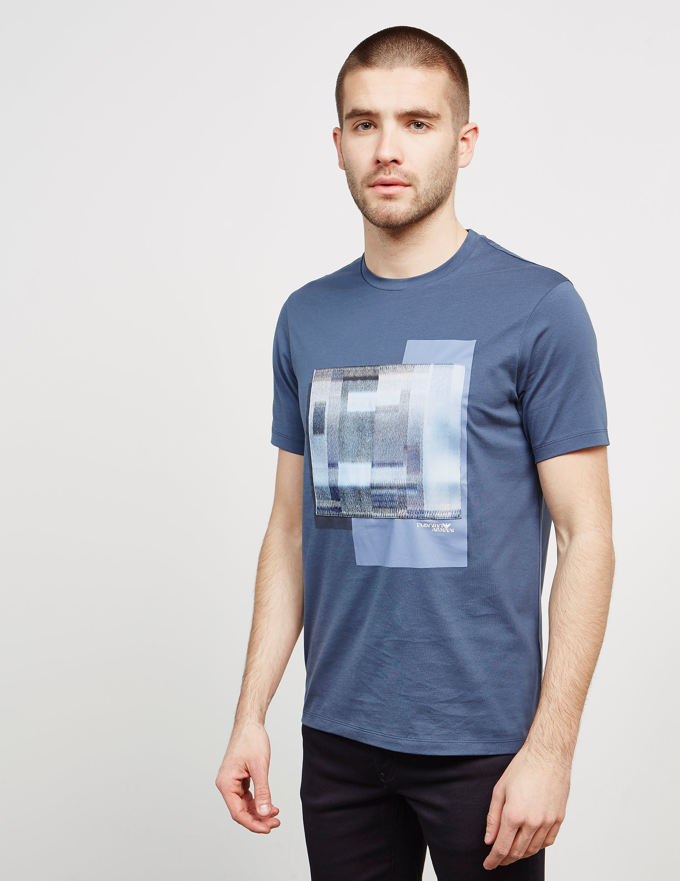 Emporio Armani Graphic Short Sleeve T-Shirt - Online Exclusive
