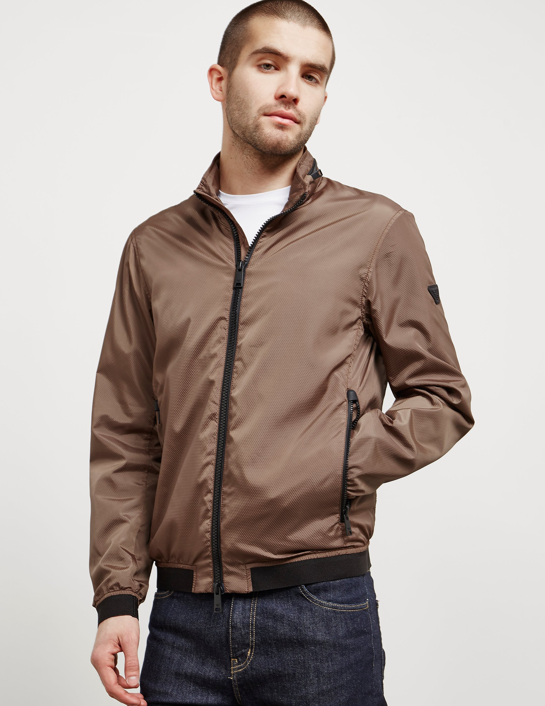 Emporio Armani Perforated Nylon Jacket