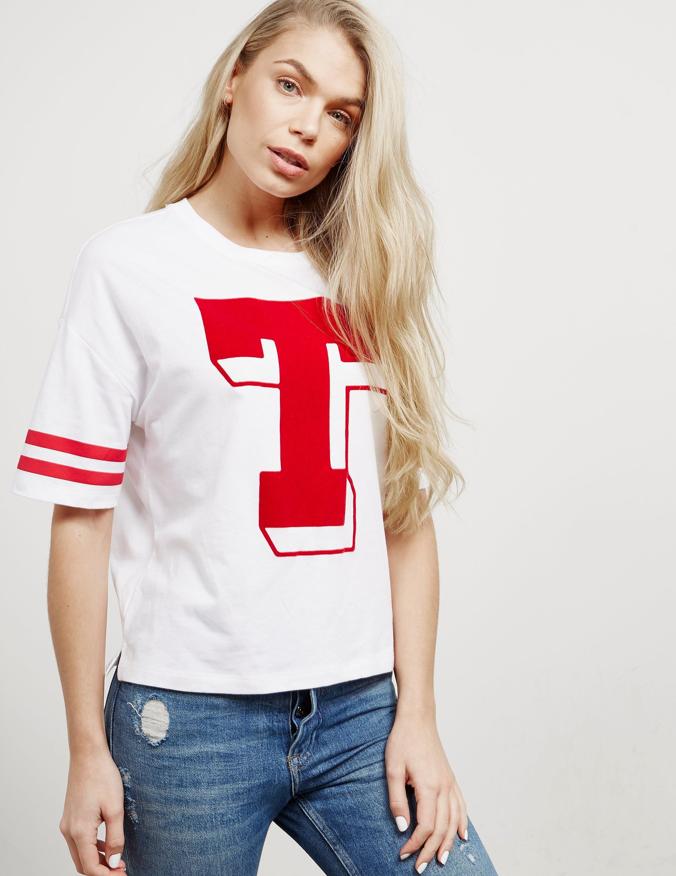 Tommy Hilfiger Oversized Short Sleeve T-Shirt