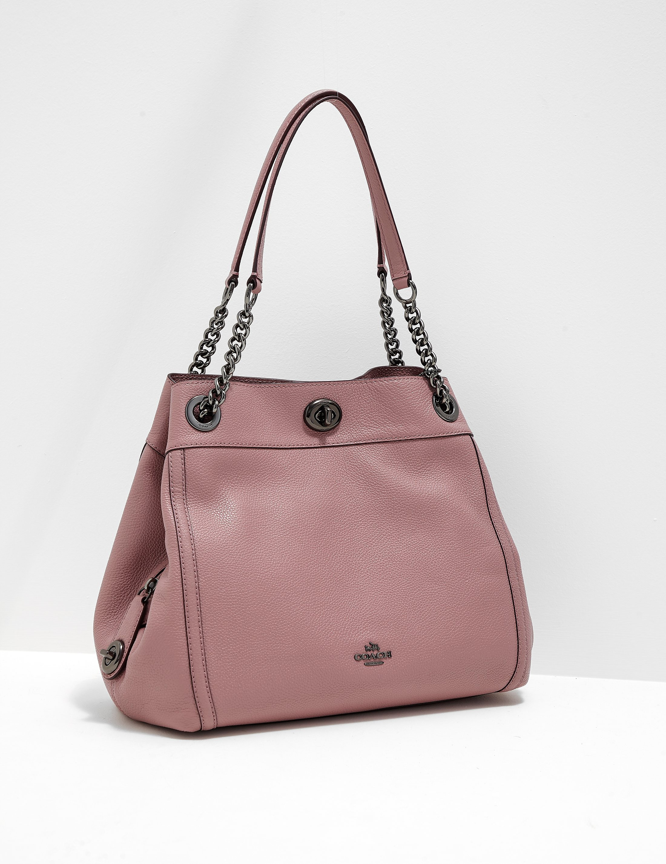COACH Turnlock Edie Handbag