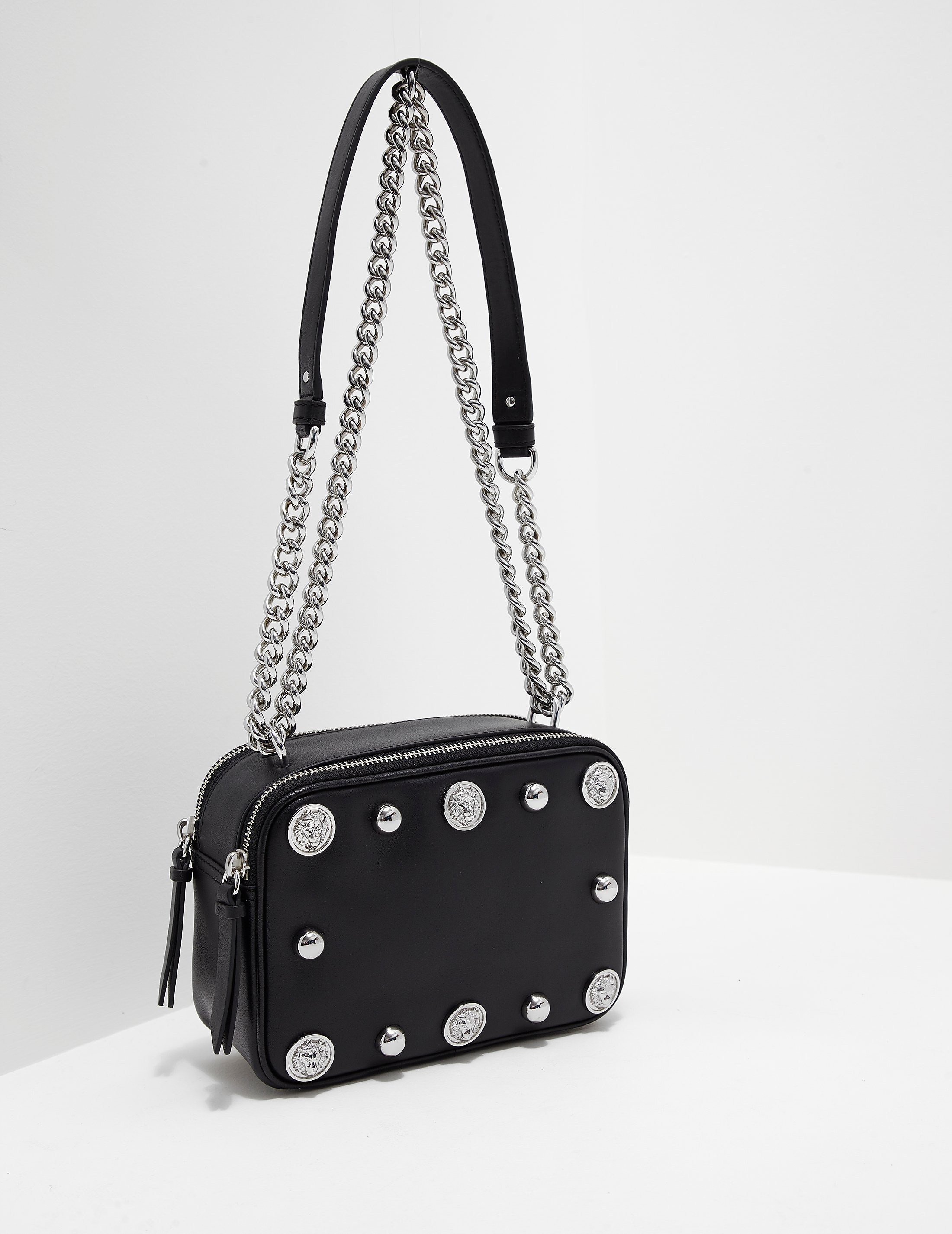 Versus Versace Lion Stud Shoulder Bag
