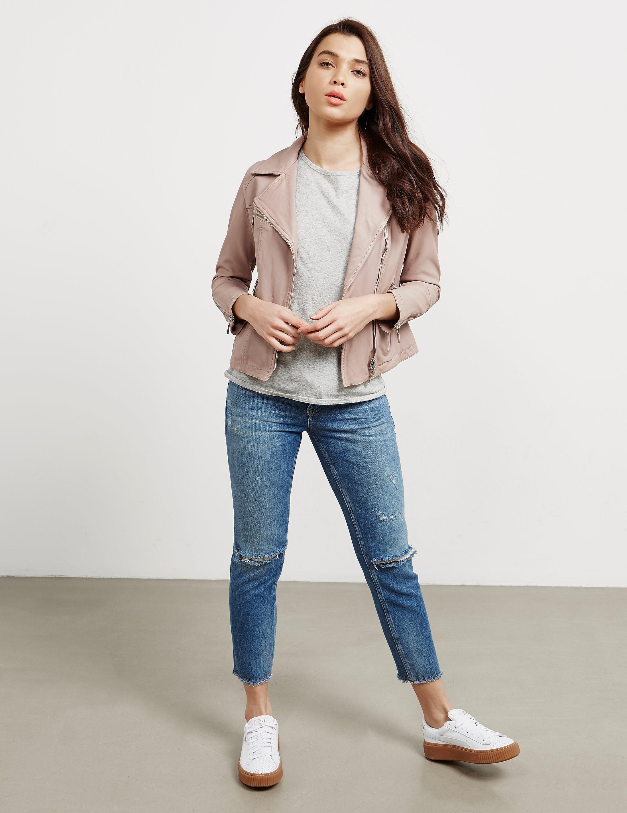 Barbour International Leather Jacket - Online Exclusive