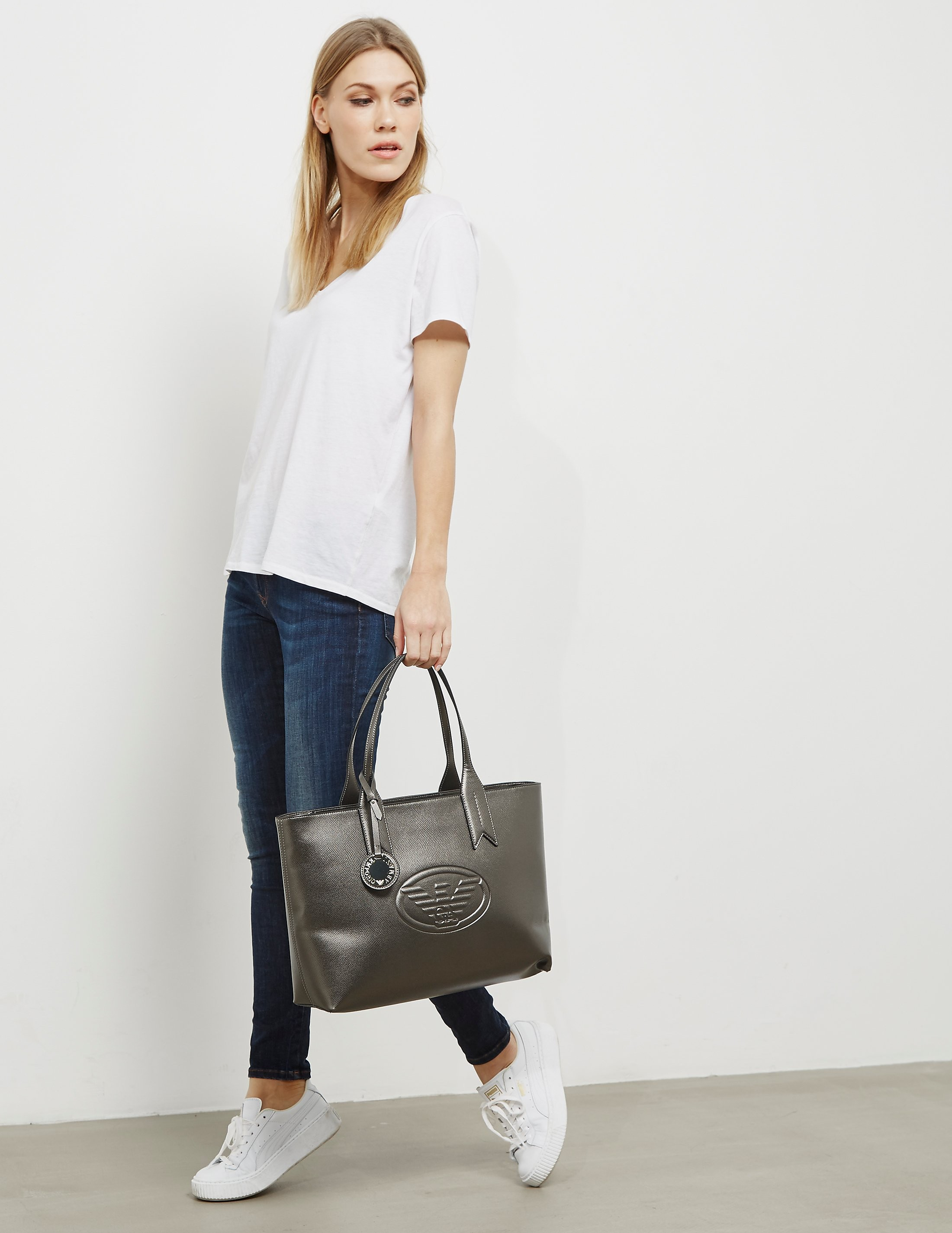Emporio Armani Borsa Logo Shopper Bag