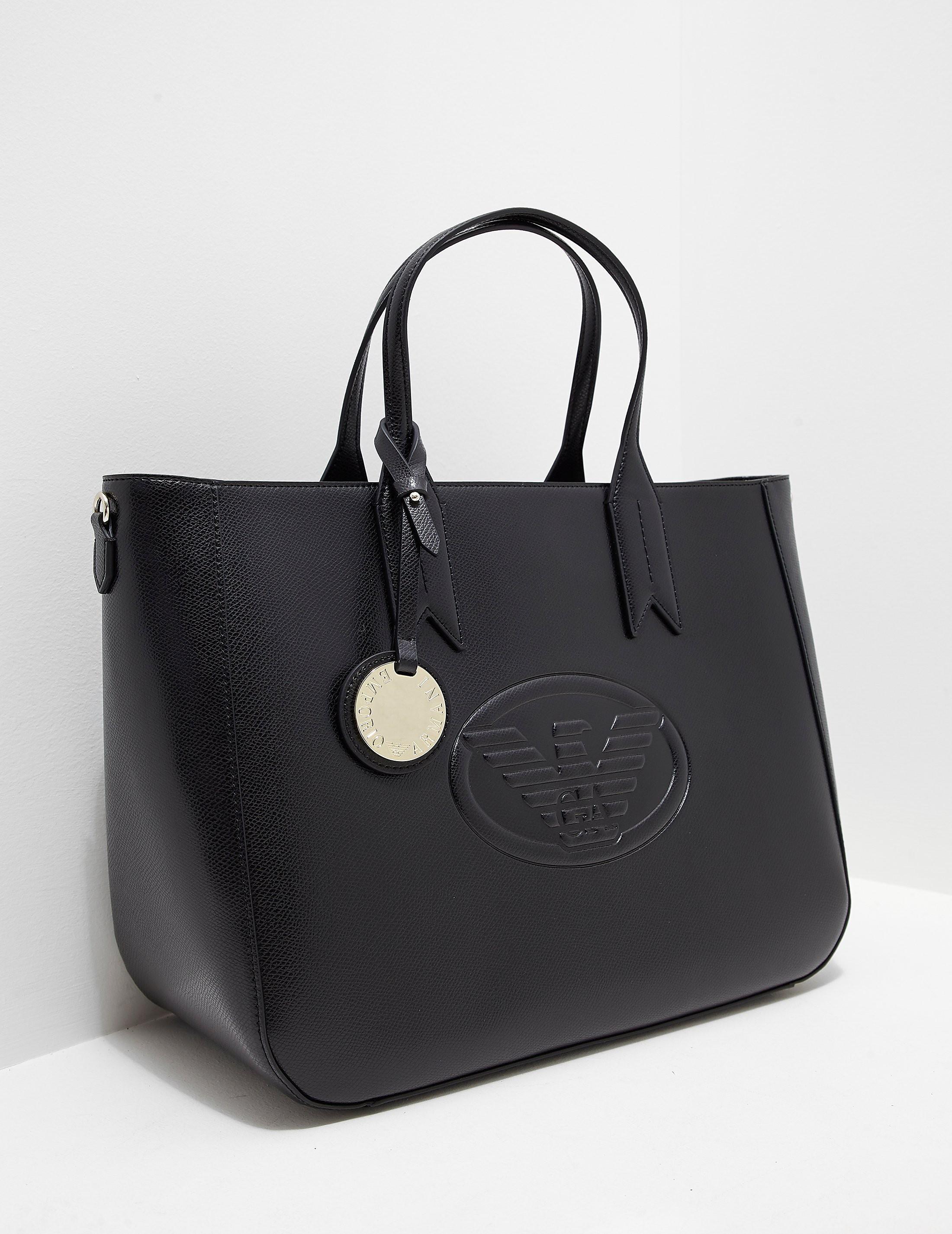 Emporio Armani Logo Tote Bag