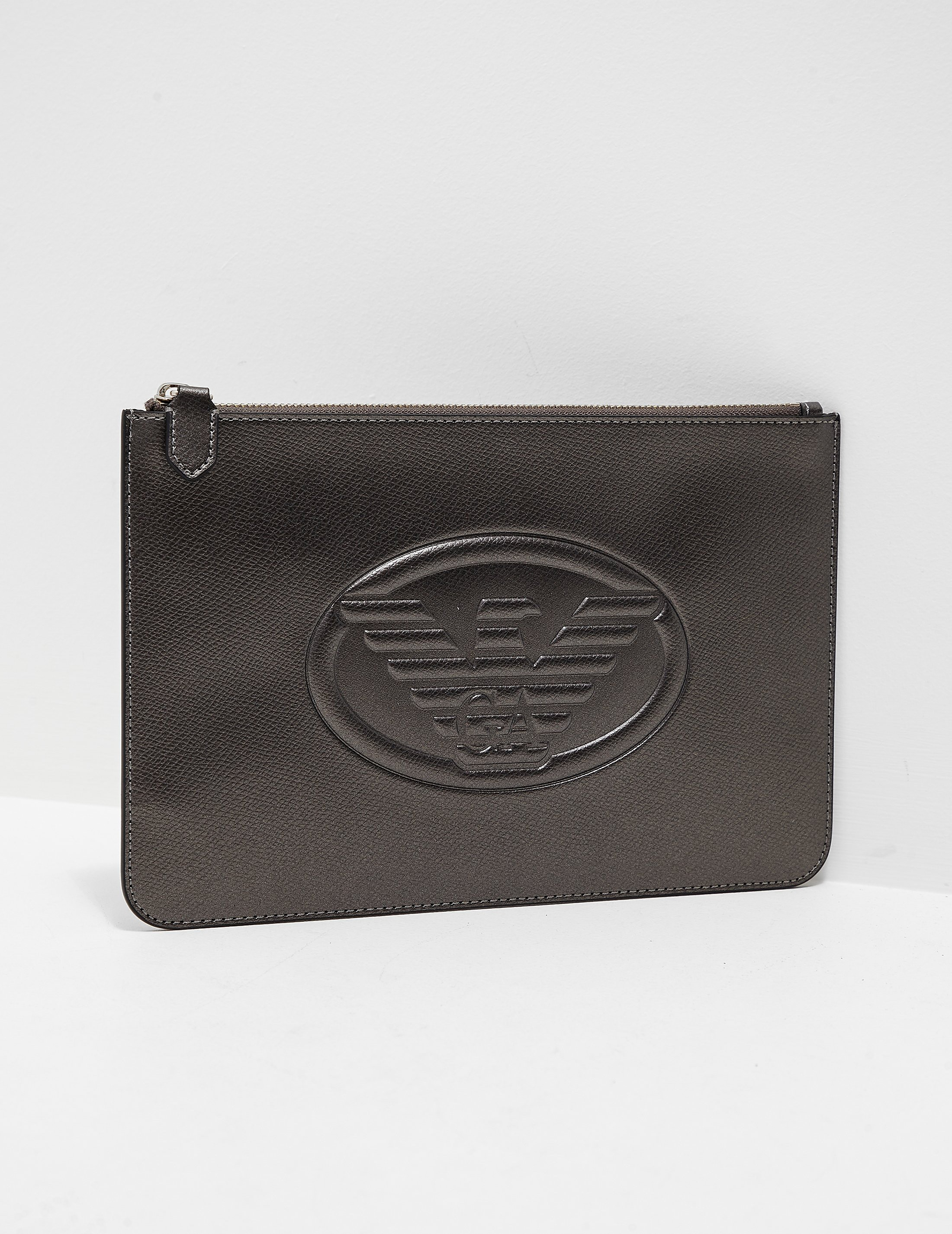 Armani Jeans Logo Clutch Bag