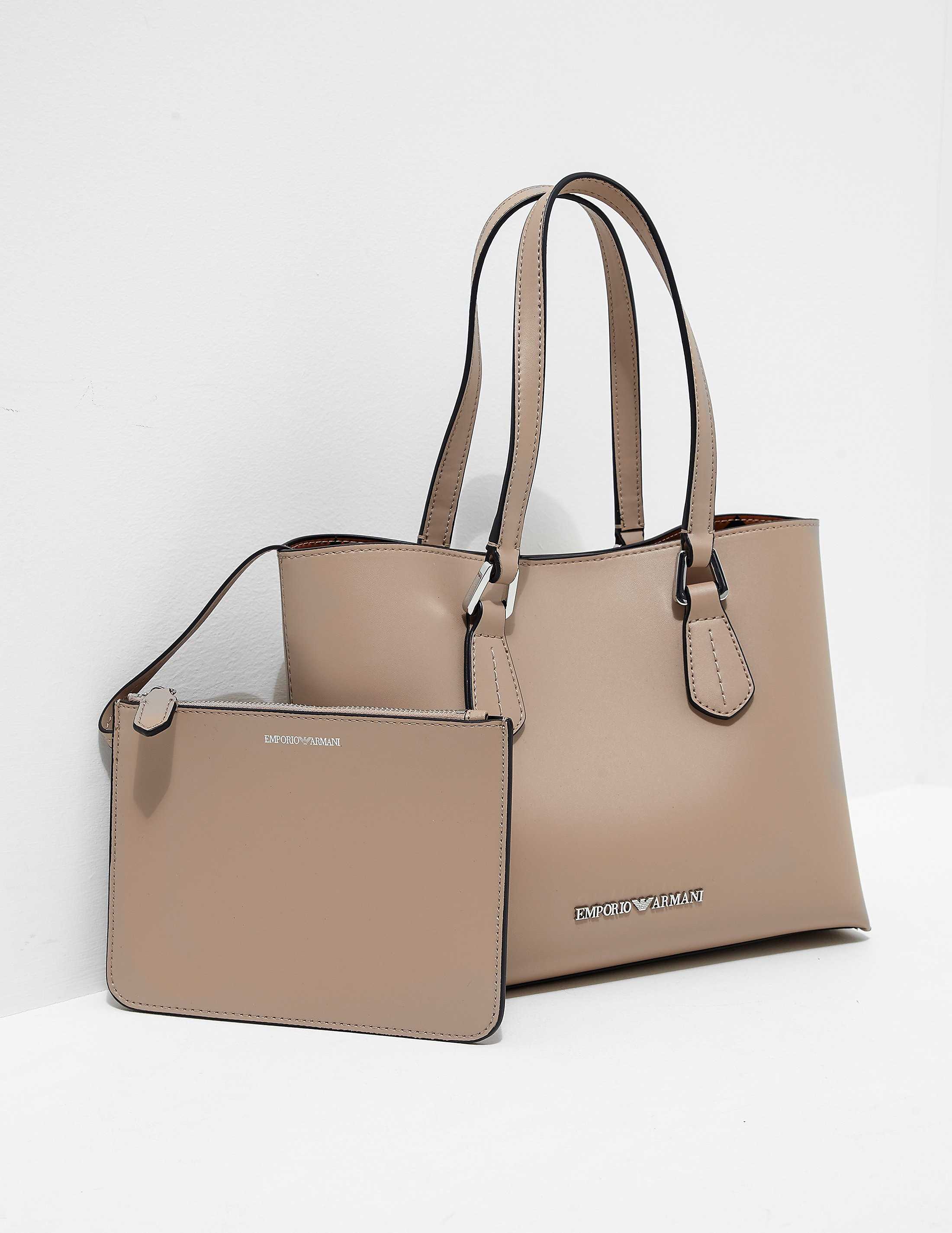 Emporio Armani Wilma Medium Shopper Bag