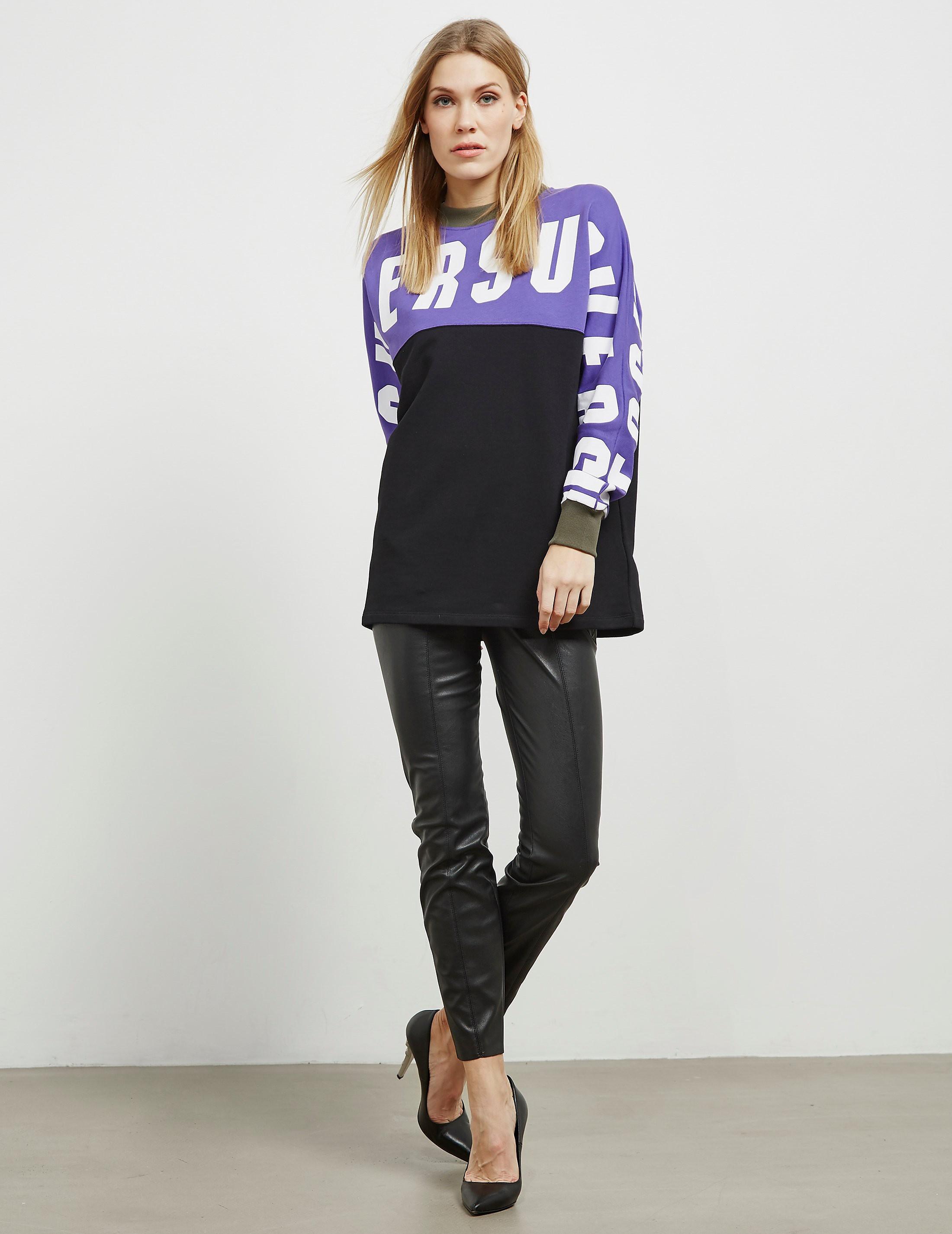 Versus Versace Block Logo Sweatshirt