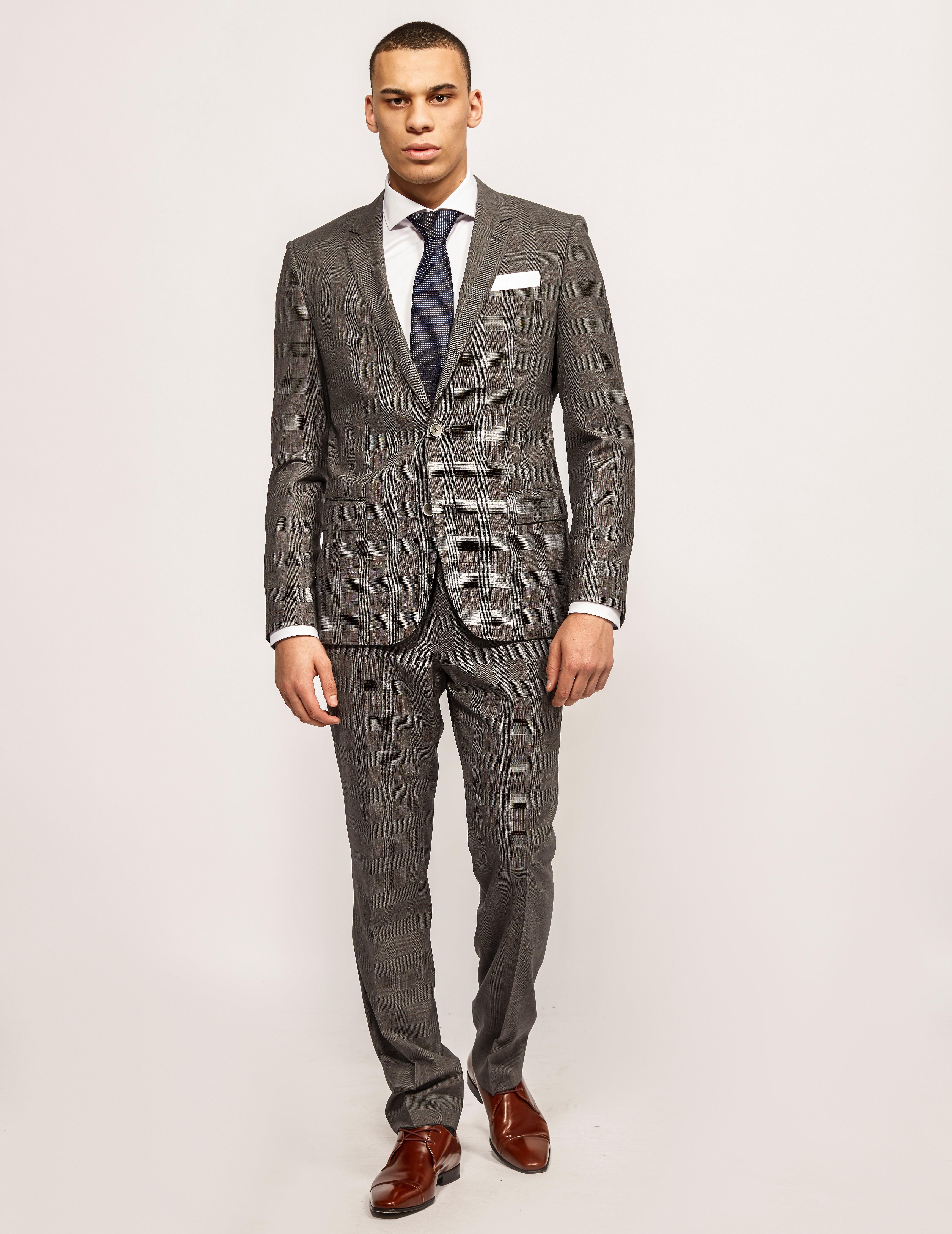 HUGO Hutson Gander Slim Fit Suit