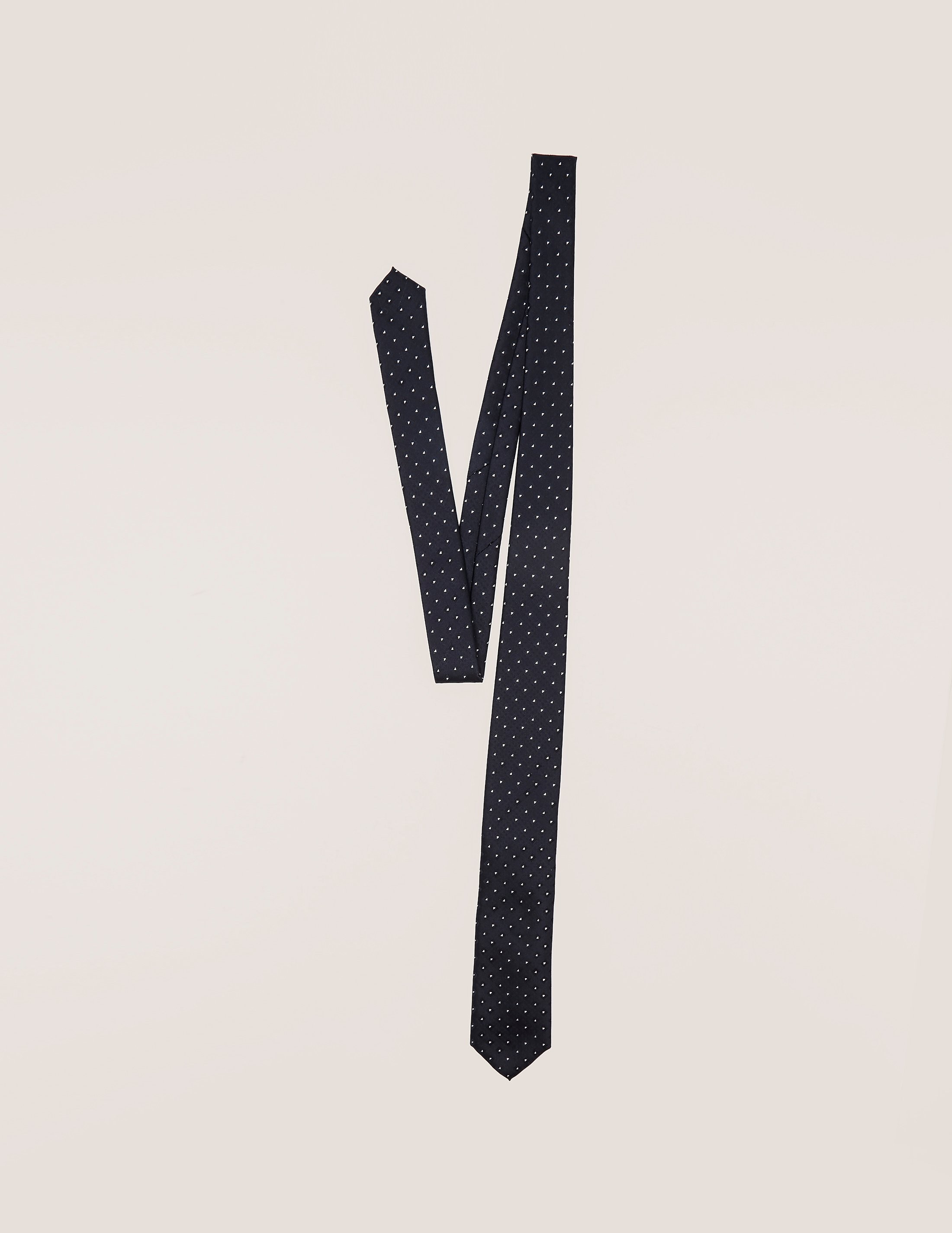 HUGO 7cm Diamond Dot Tie