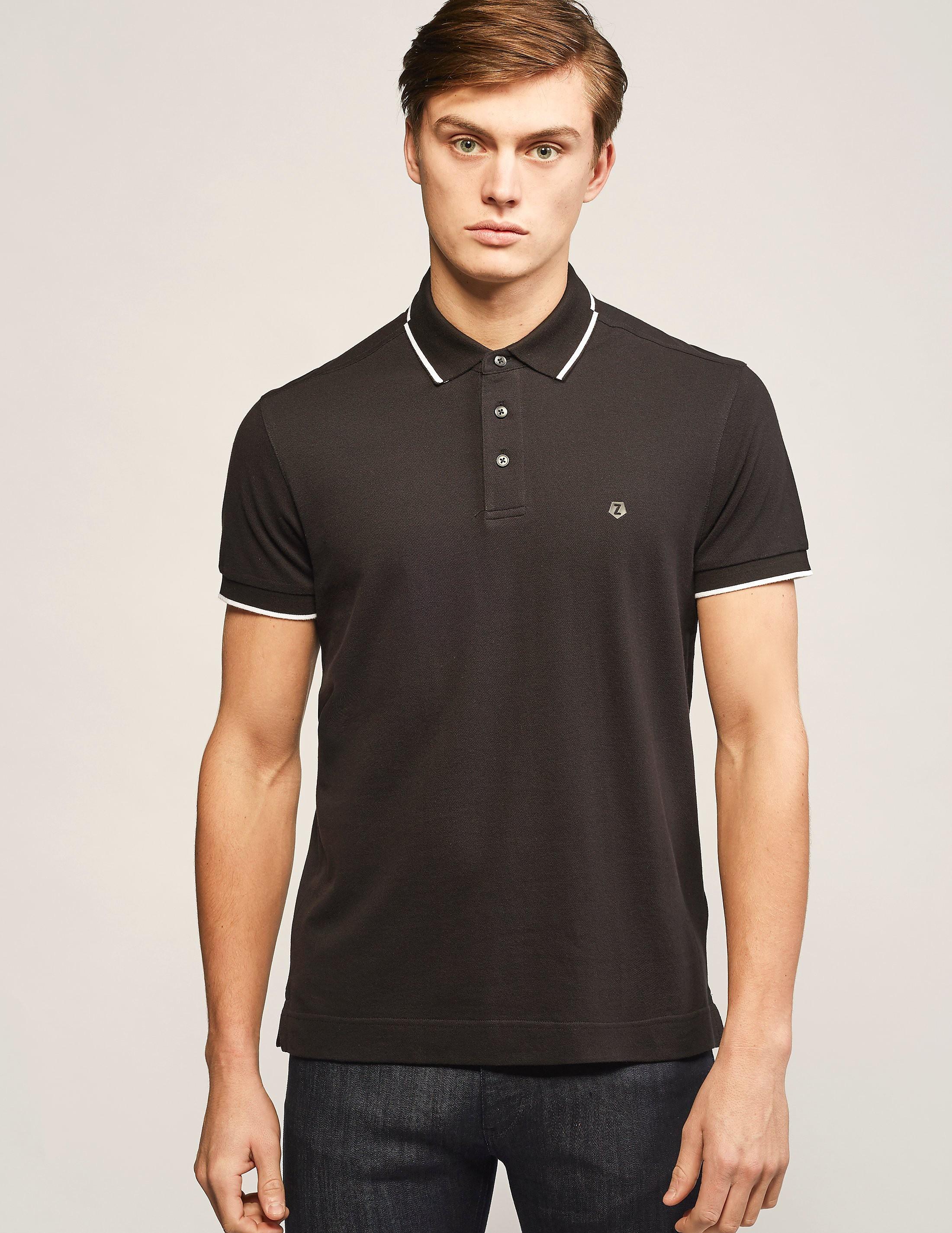 Z Zegna Basic Polo Shirt