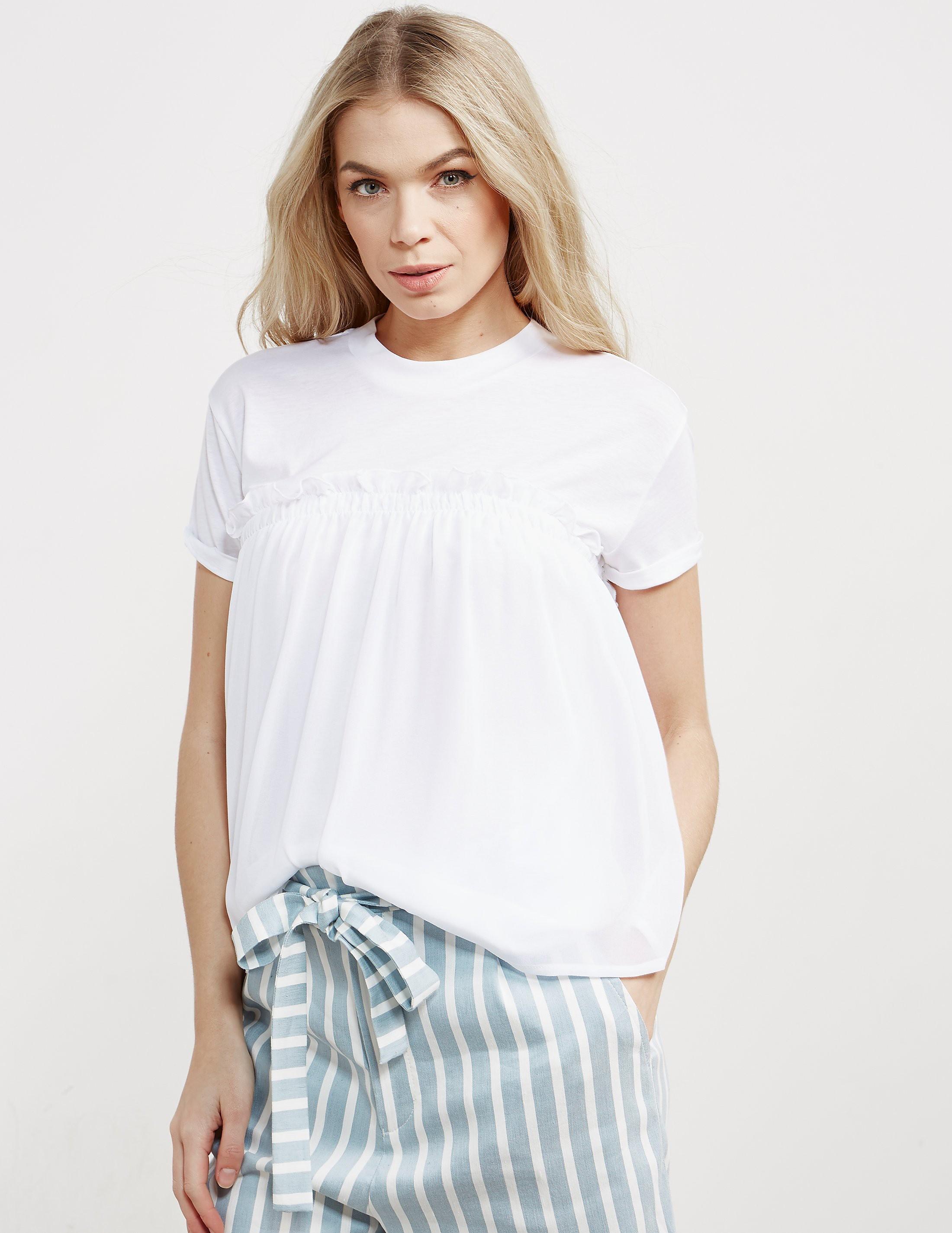 BOSS Tercool Frill Short Sleeve Shirt
