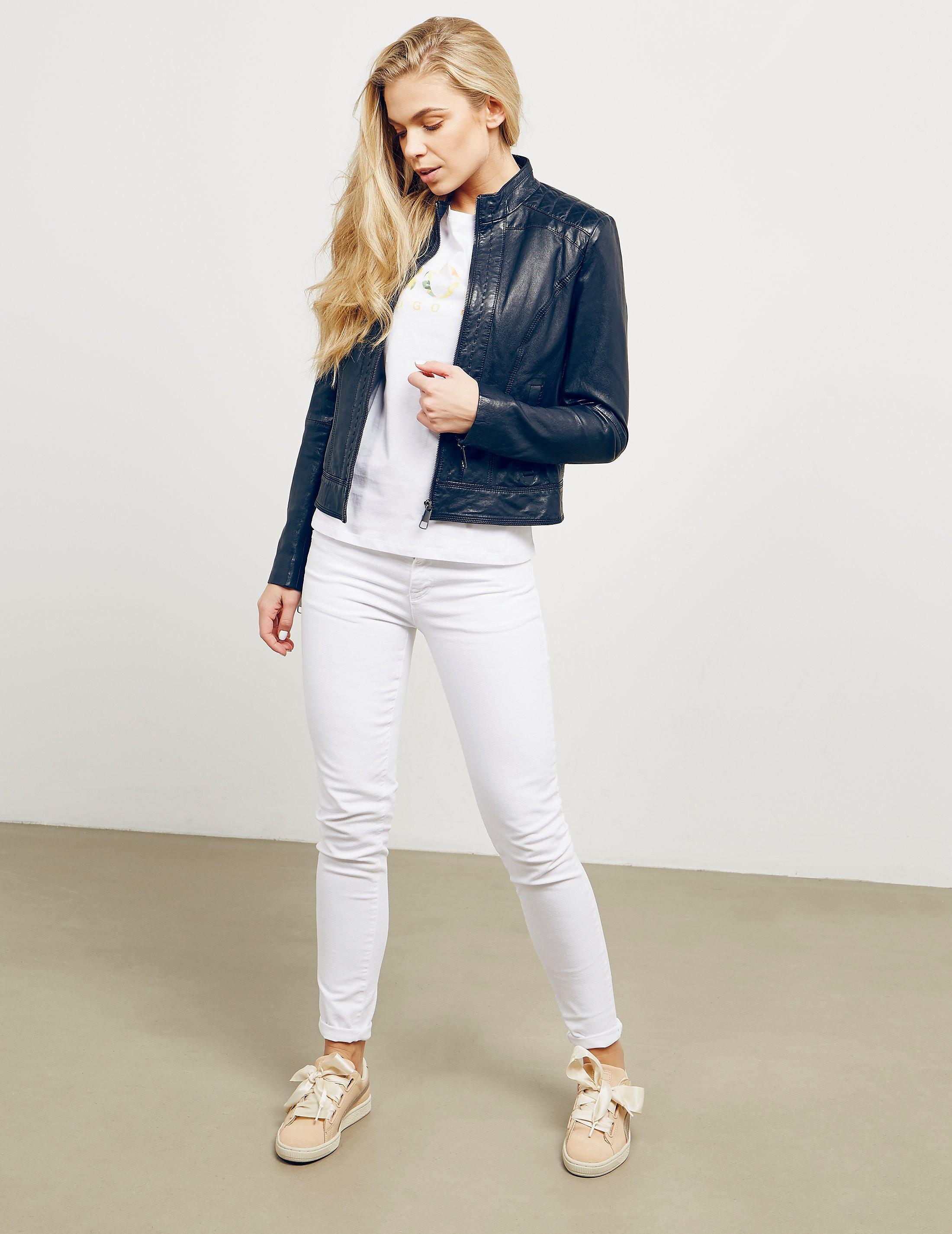 BOSS Janabelle Leather Jacket