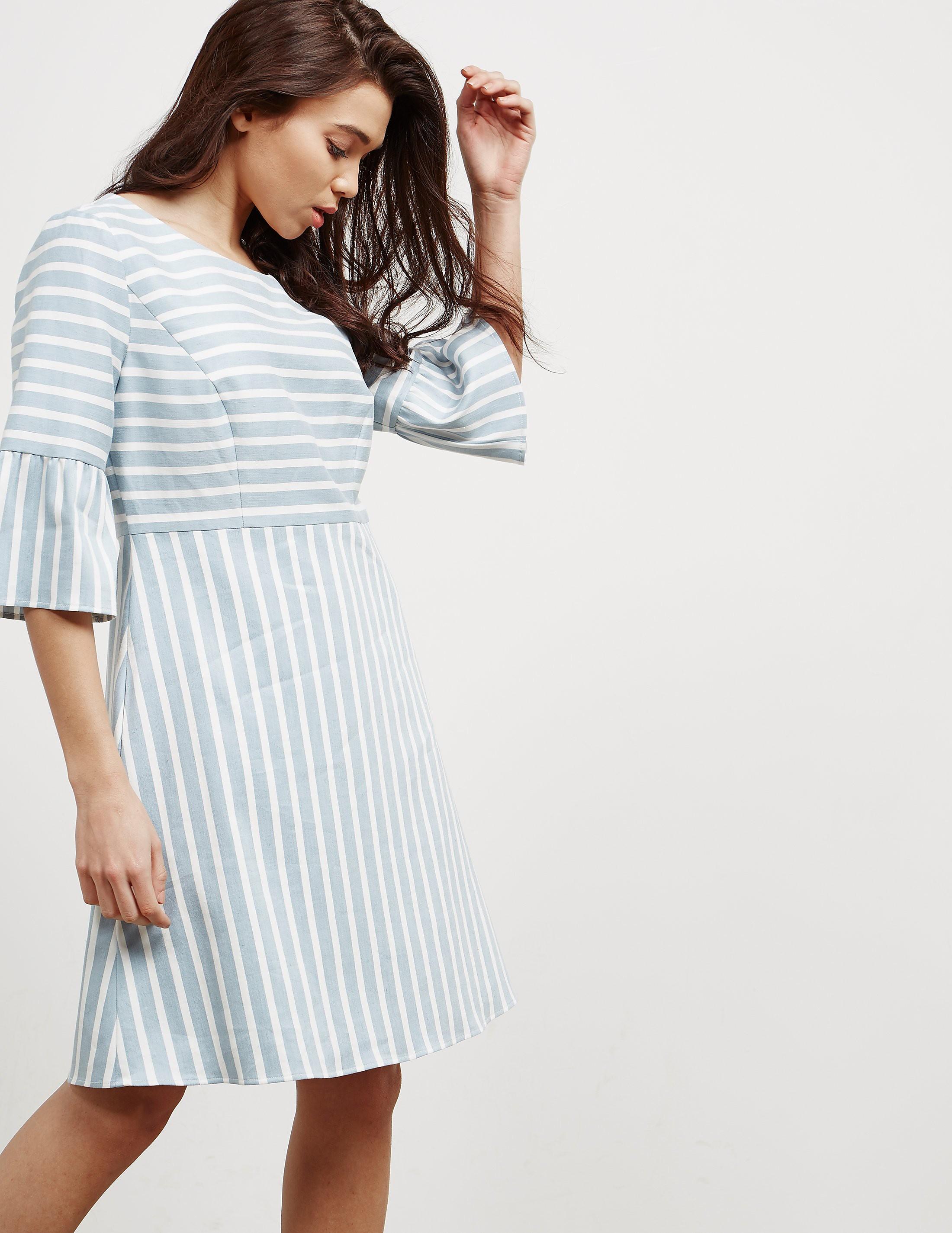 BOSS Alinny Stripe Dress