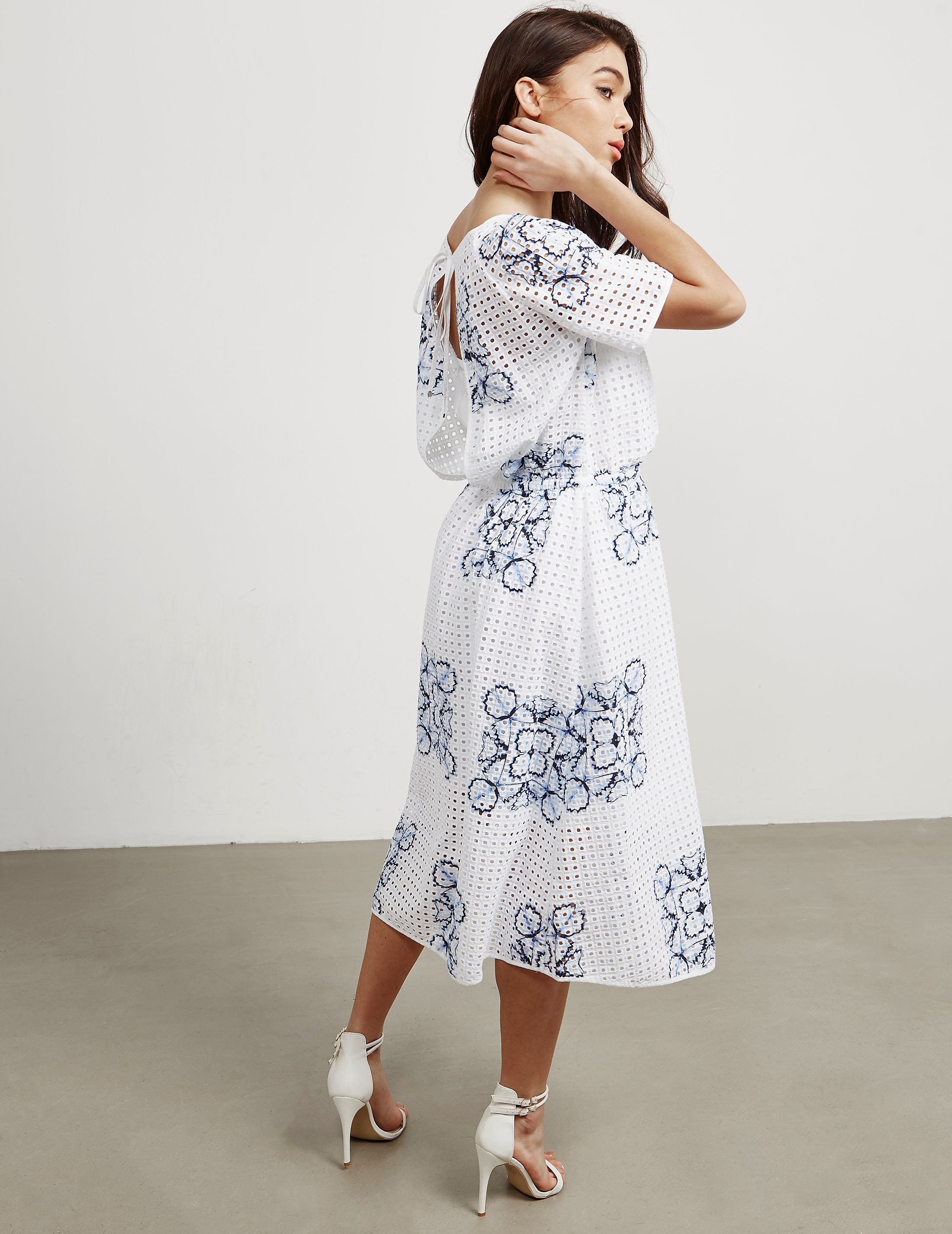 BOSS Emare Floral Dress