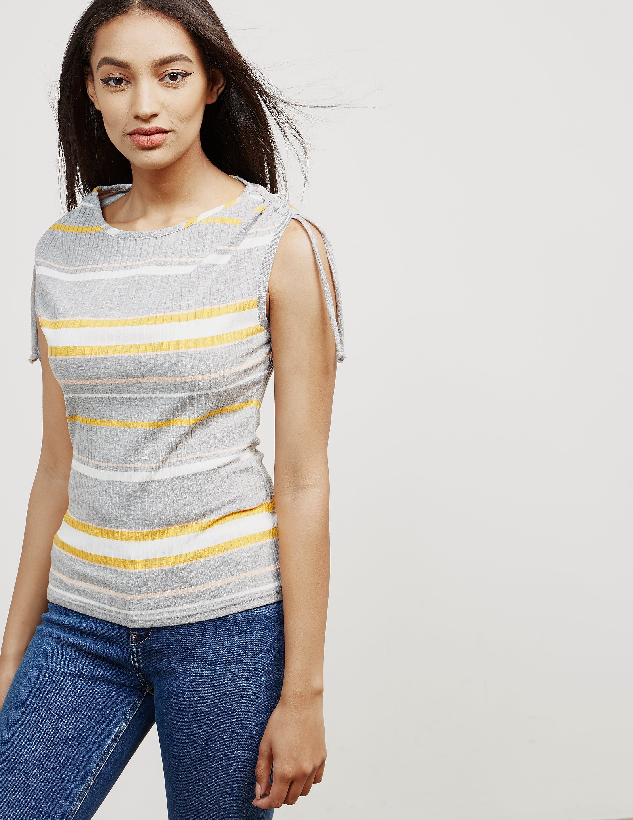 BOSS Ribbed Stripe T-Shirt