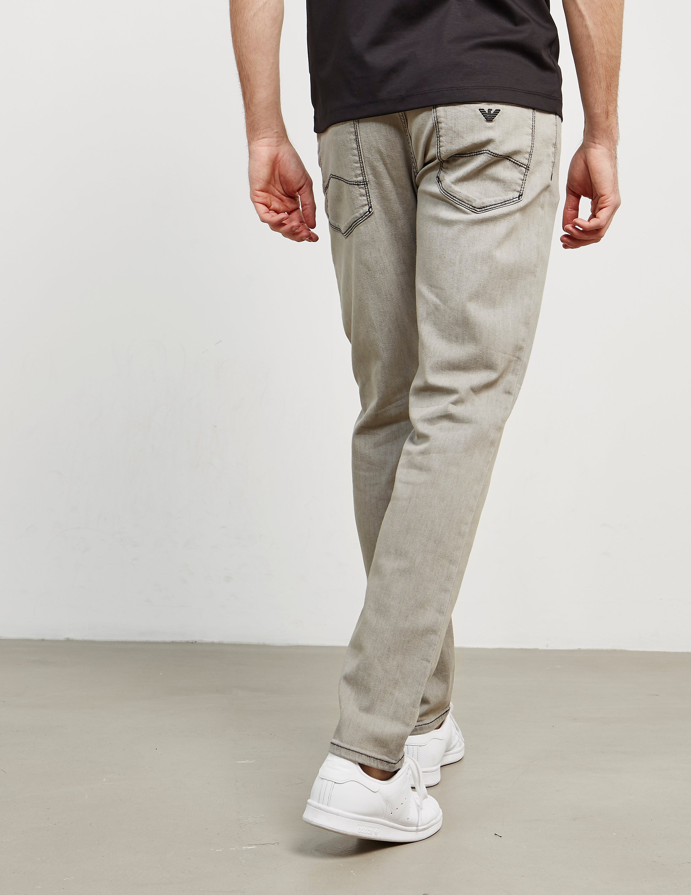 Emporio Armani J06 Slim Contrast Jeans