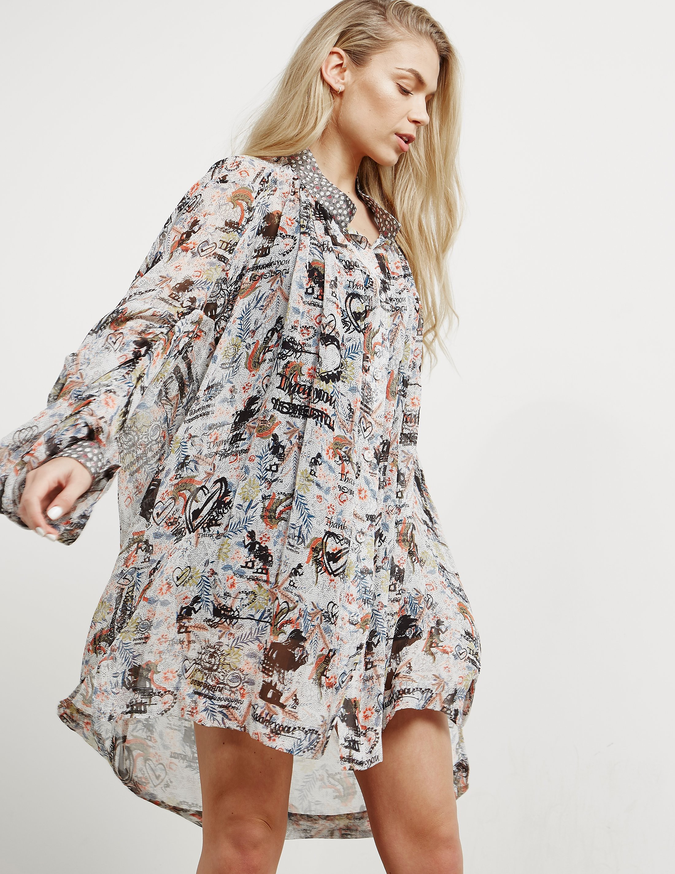 Vivienne Westwood Anglomania Gabelle Shirt Dress