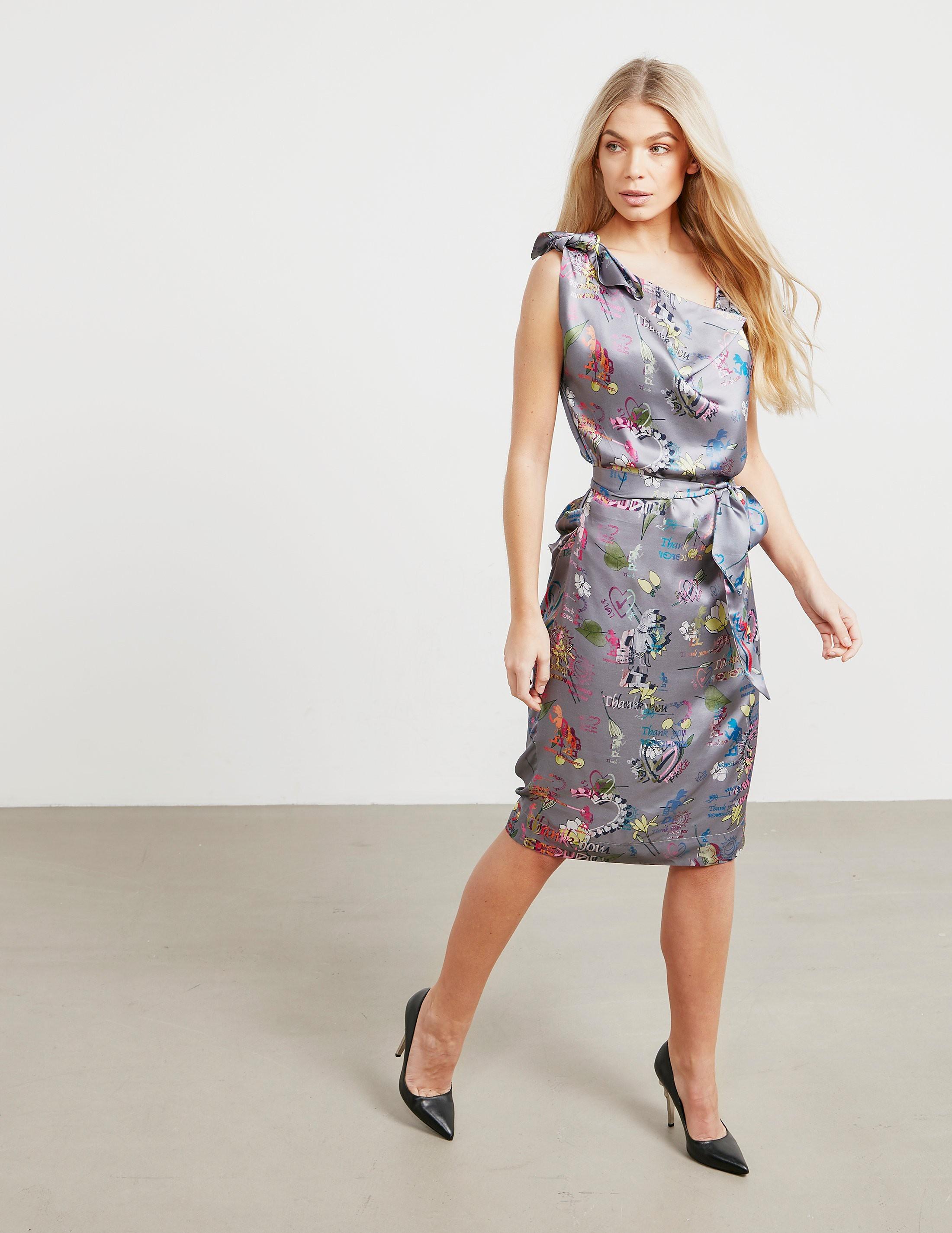 Vivienne Westwood Anglomania Shore Print Dress