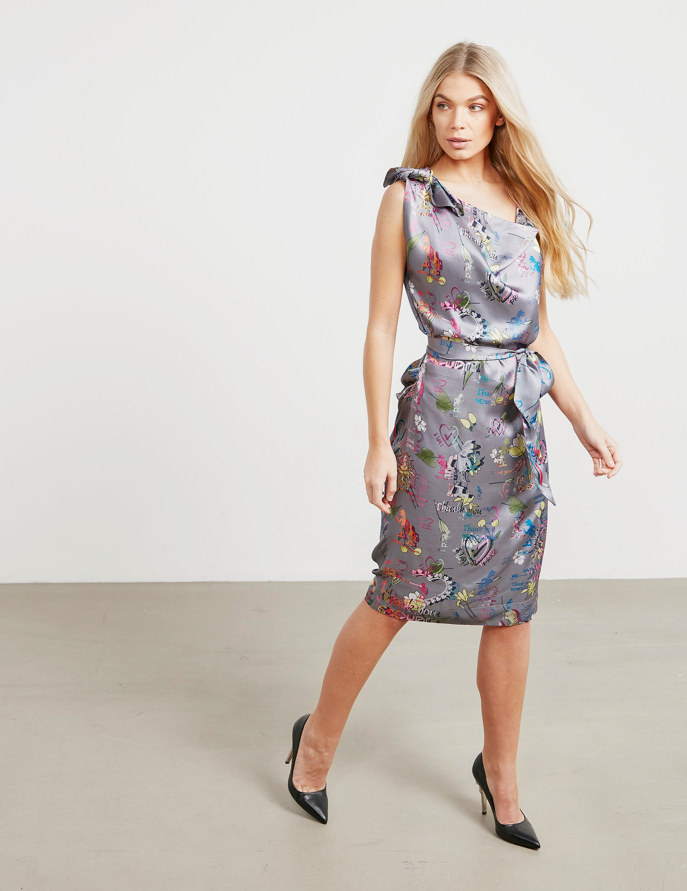 Vivienne Westwood Anglomania Shore Print Dress