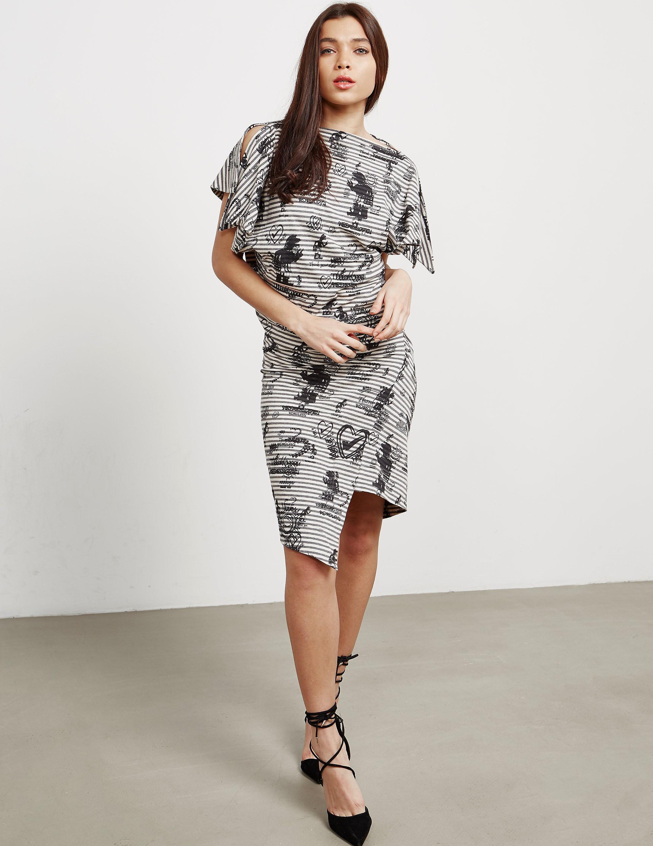 Vivienne Westwood Anglomania Shore Stripe Dress