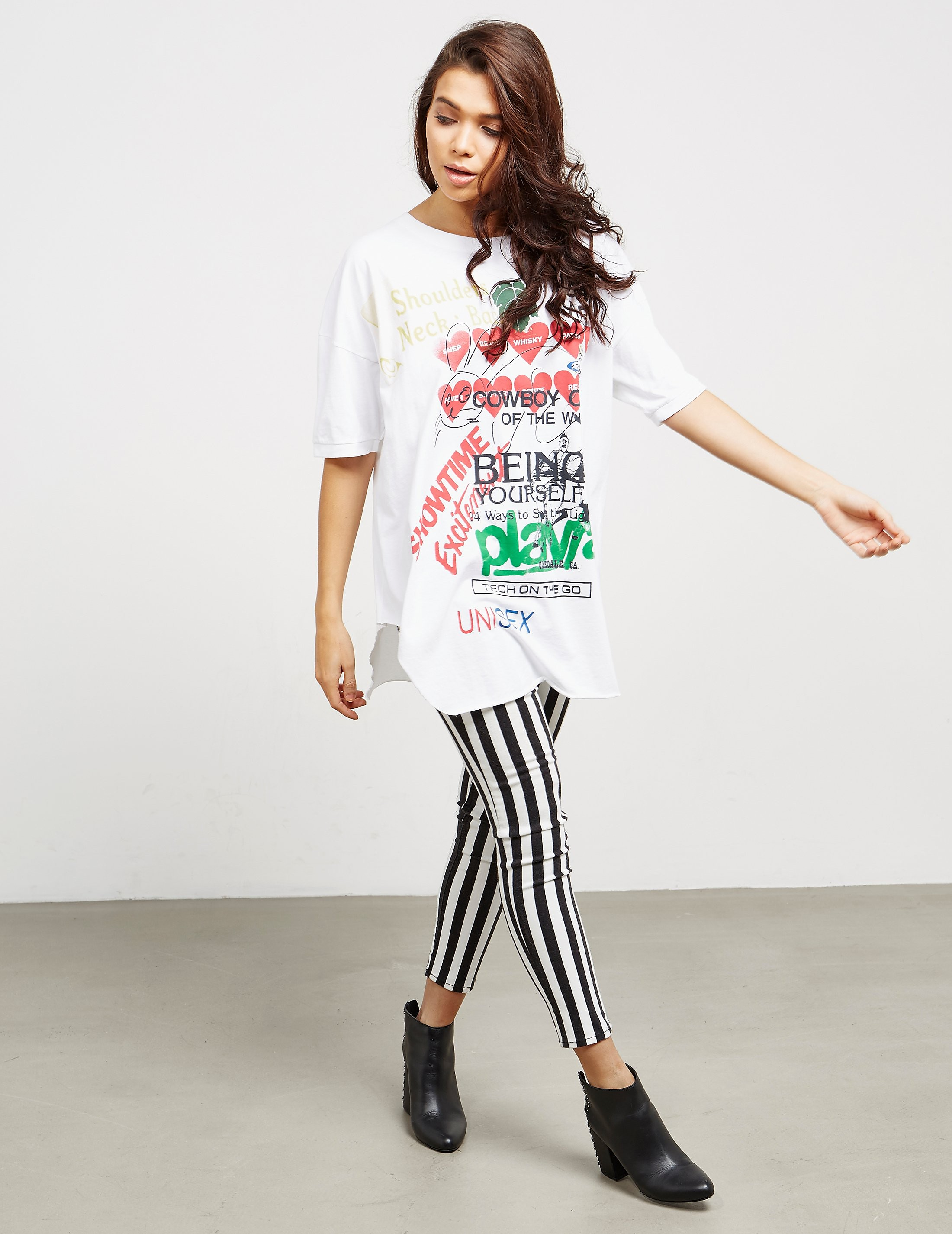 Vivienne Westwood Anglomania Baggy Short Sleeve T-Shirt