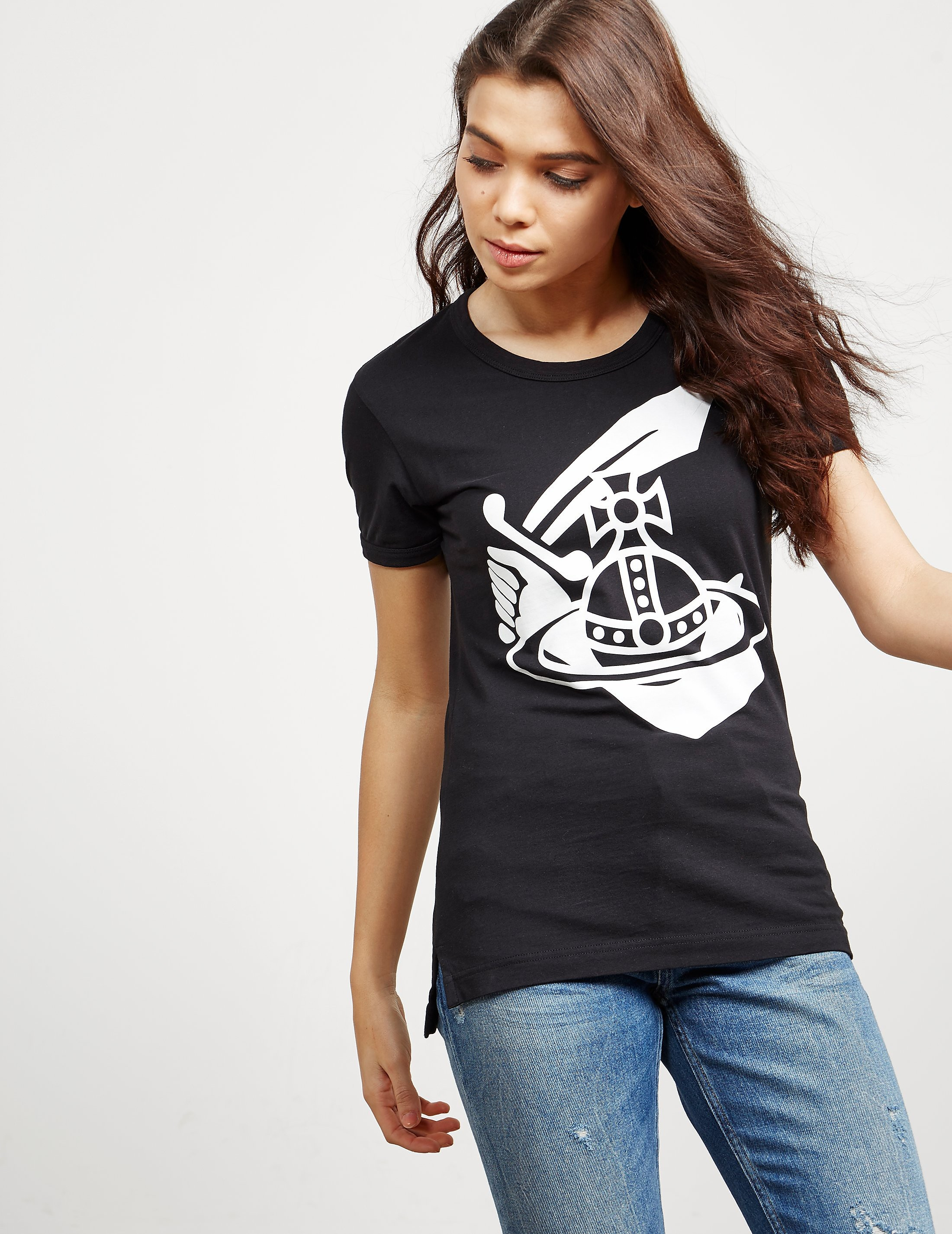 Vivienne Westwood Anglomania Cutlass Orb Short Sleeve T-Shirt