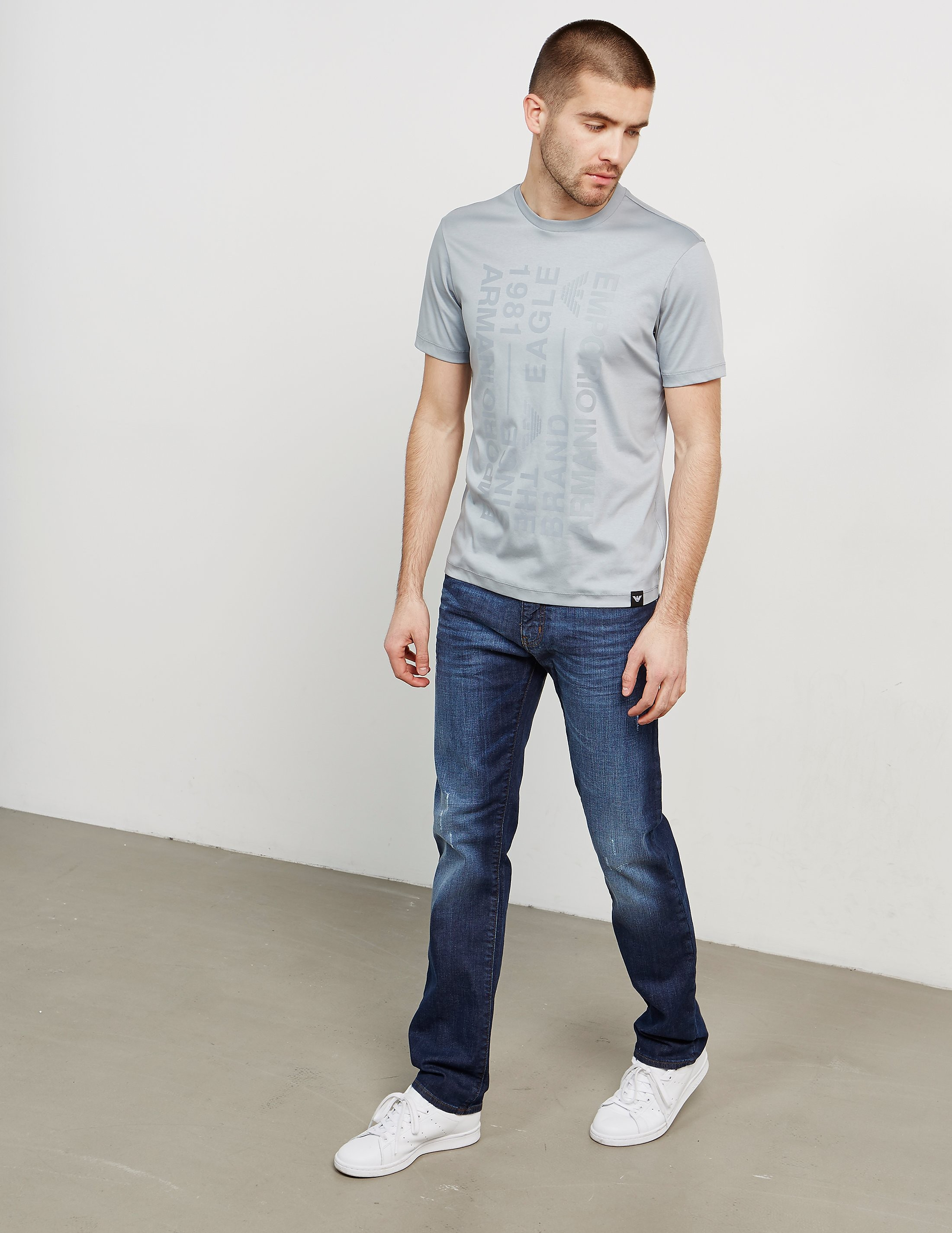 Emporio Armani J45 Tapered Jeans