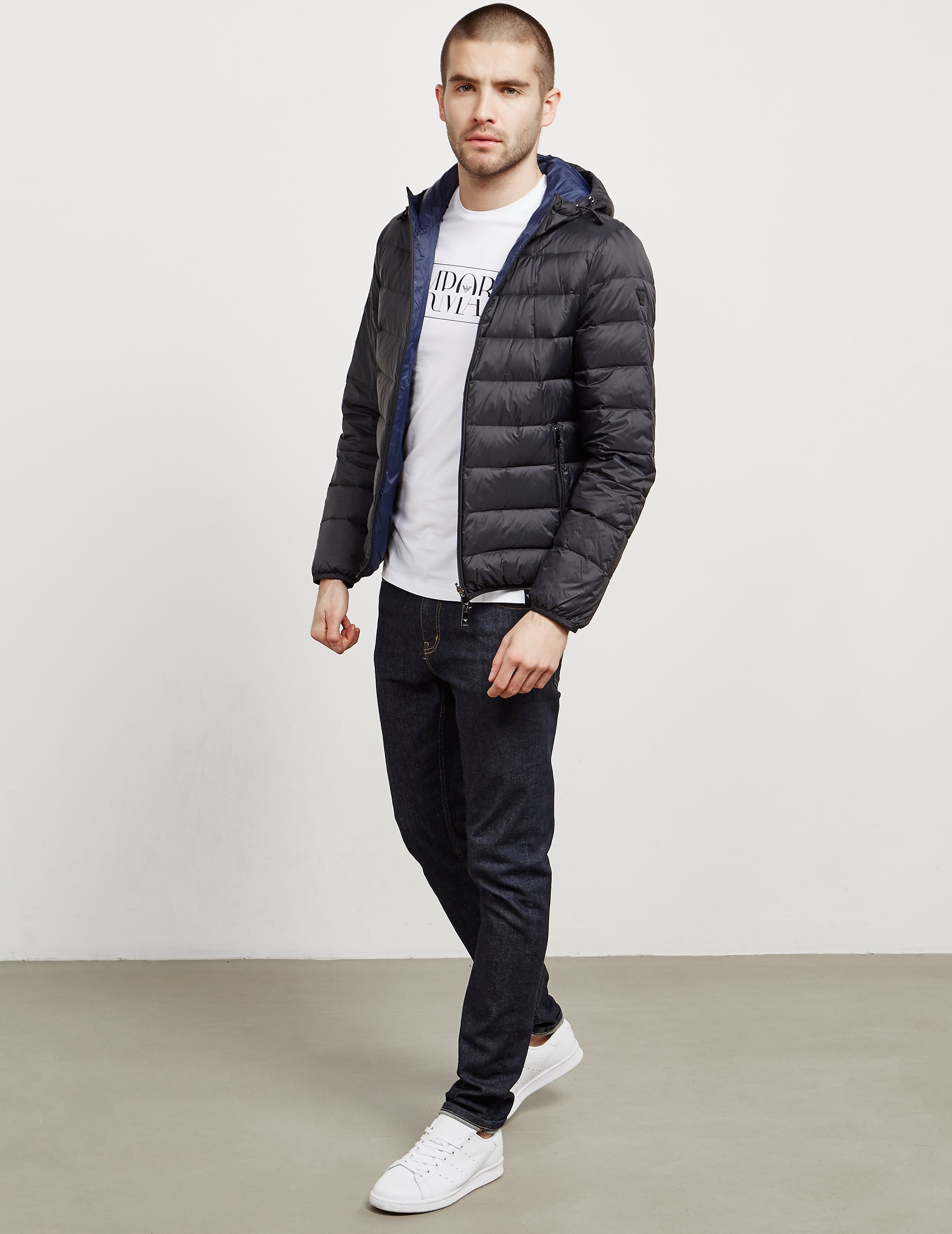 Emporio Armani Reversible Down Padded Jacket