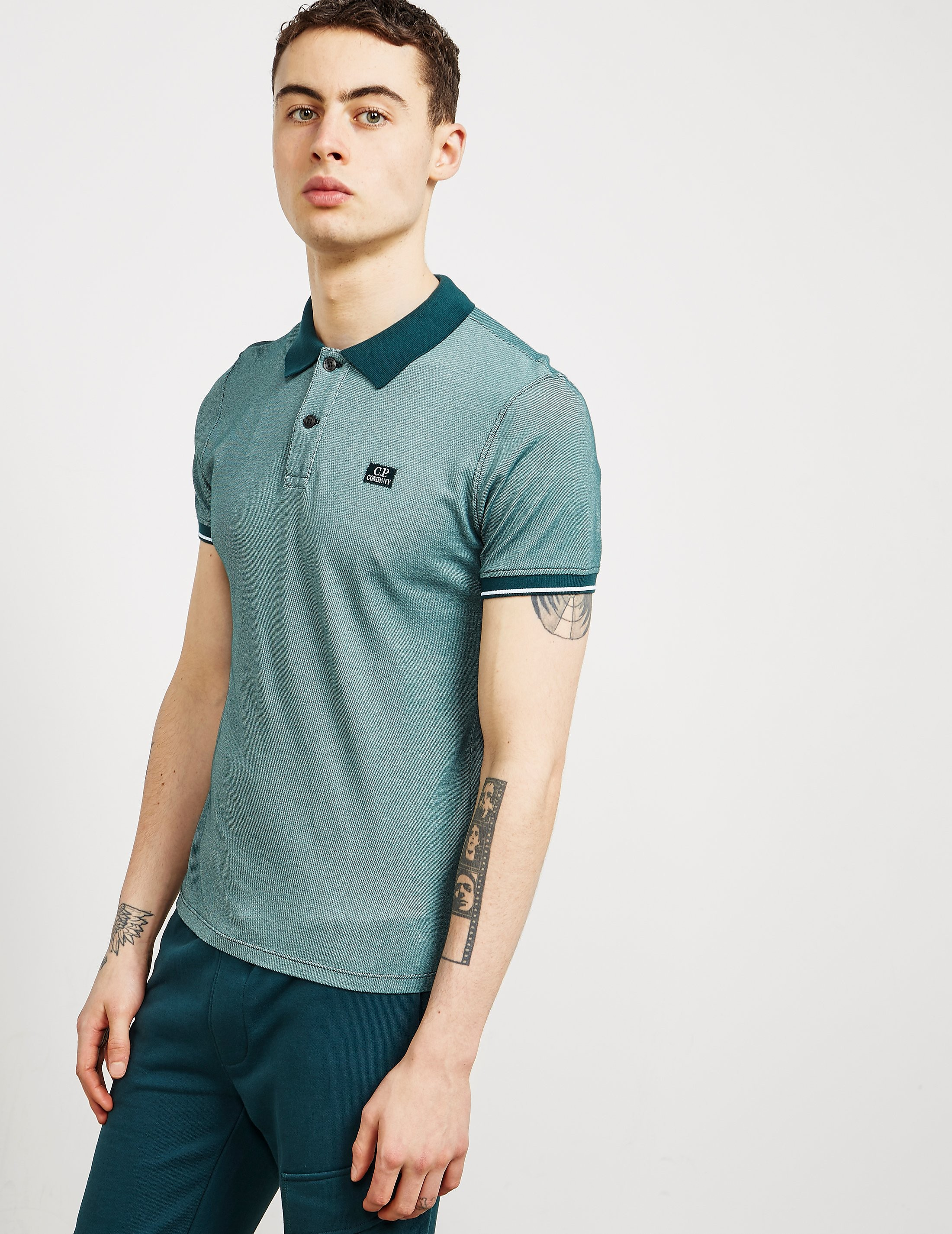 CP Company Tacting Short Sleeve Polo Shirt