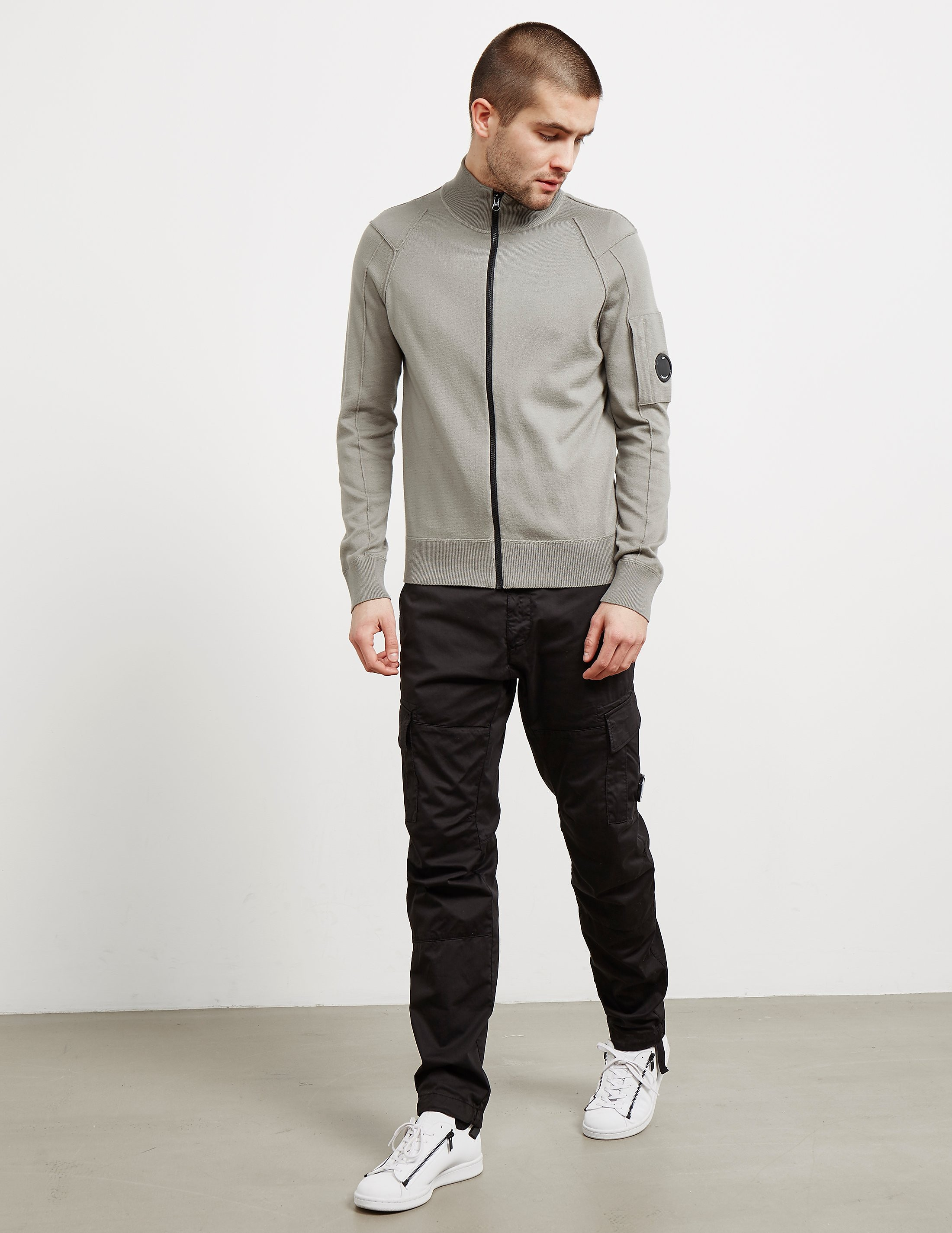 CP Company Full Zip Lens Knit